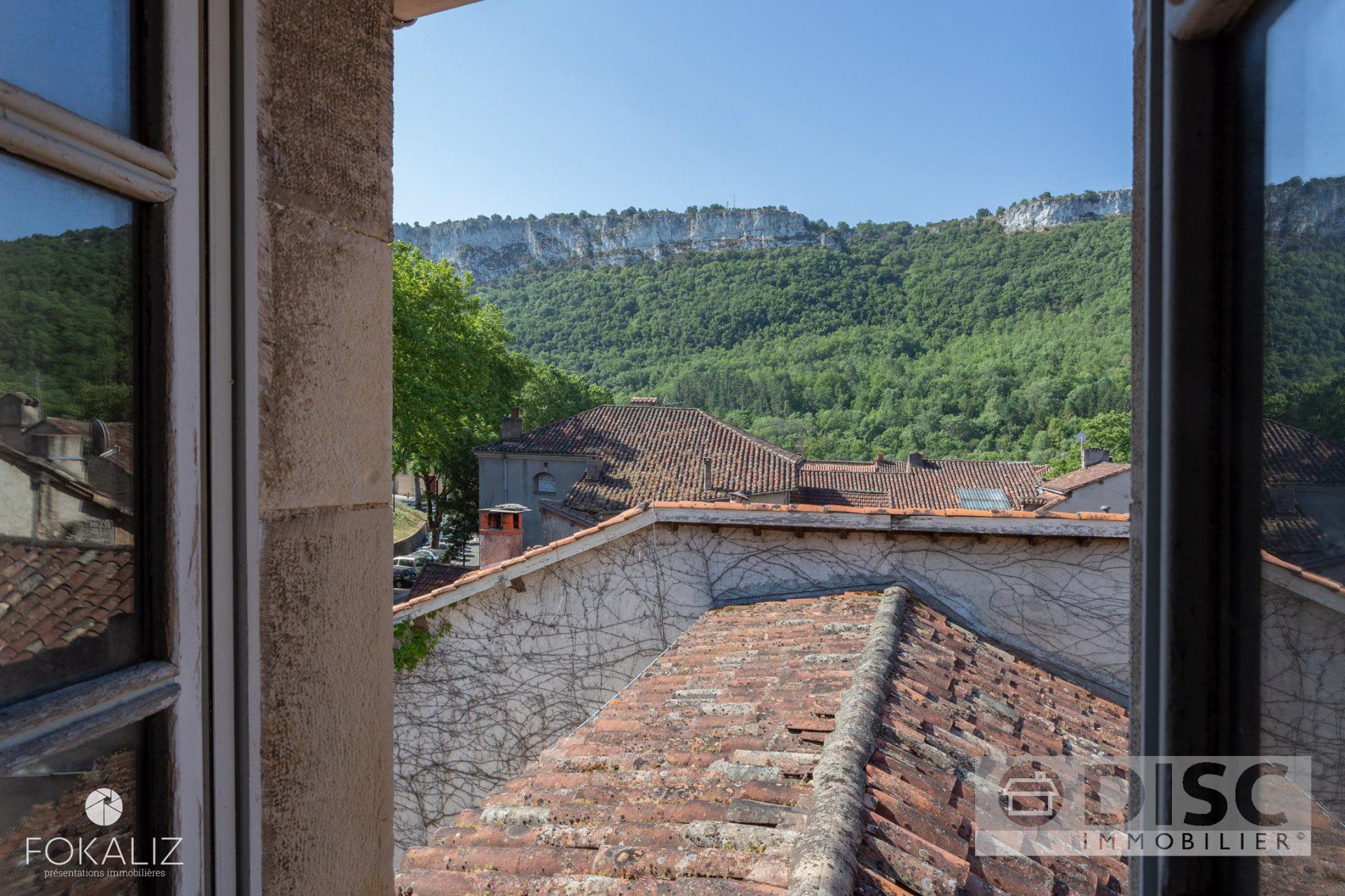 Exceptional renovation project in the historic centre of St Antonin Noble Val