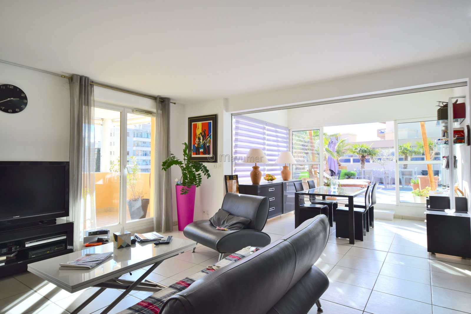 Dernier étage Appartement T3/4 avec terrasses à ciel ouvert