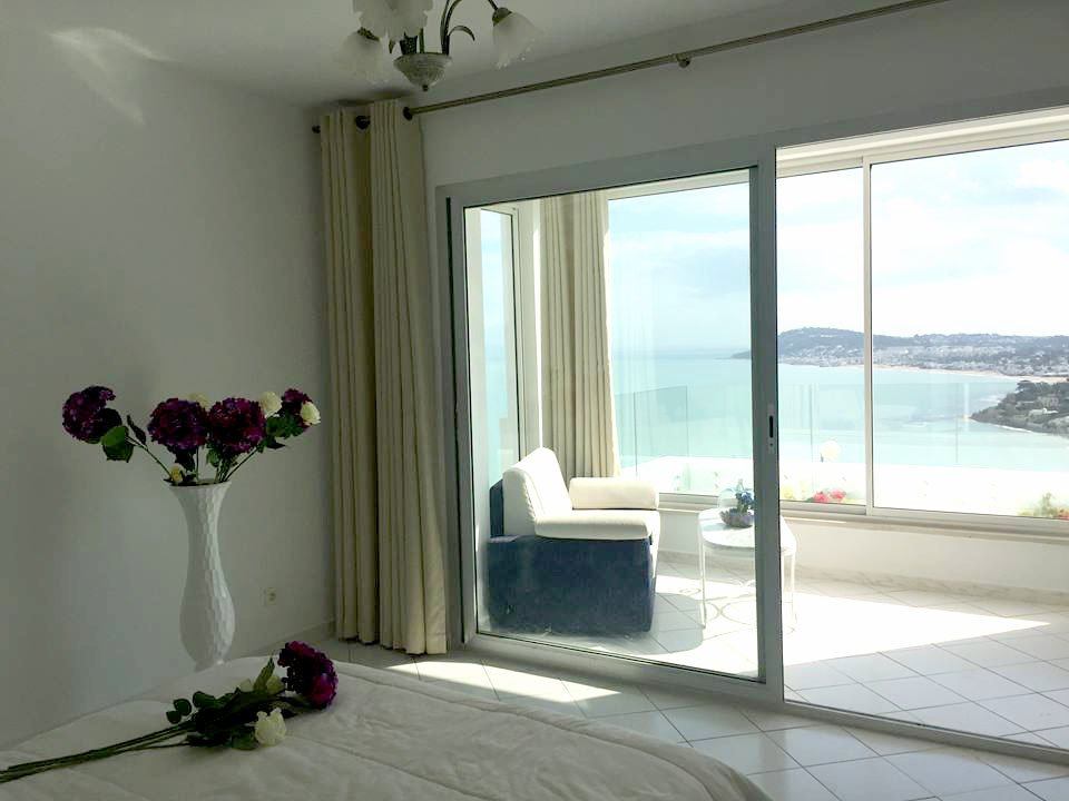 For rent S + 1 furnished sea view in Gammarth