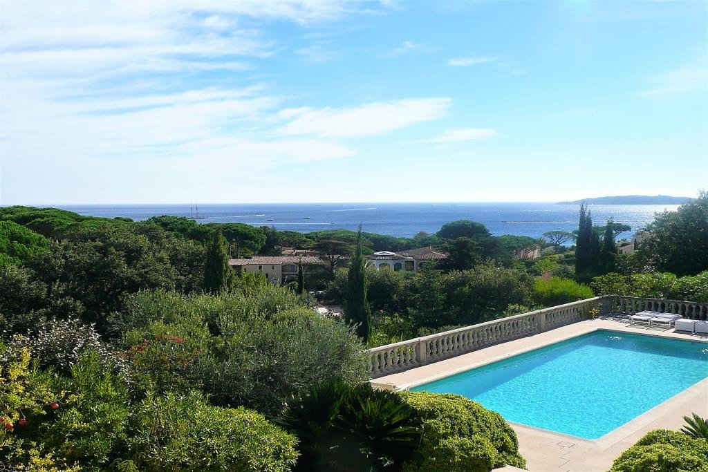 Villa with panoramic sea view and swimming pool for sale in Sainte Maxime