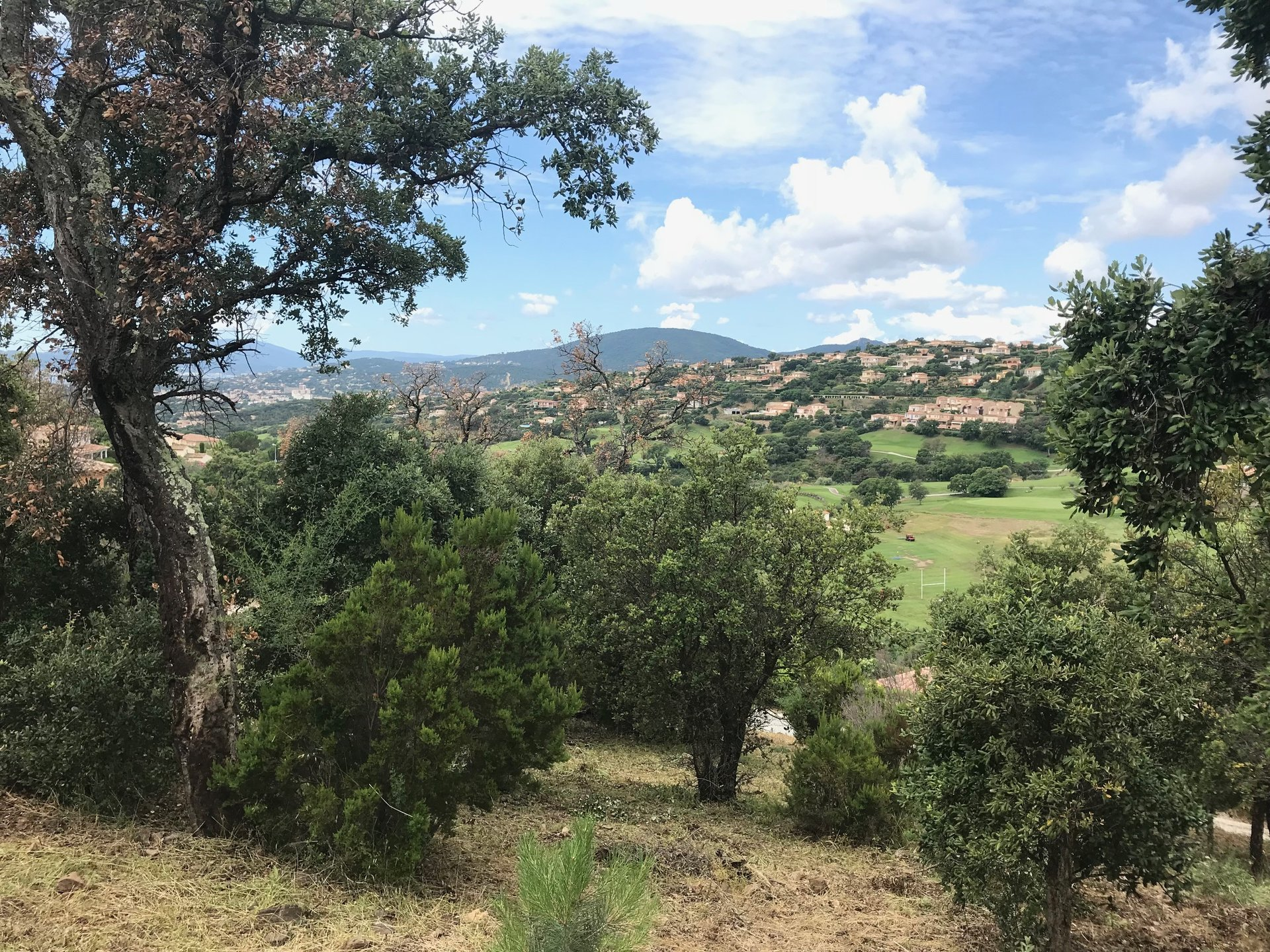 Land for sale in Sainte Maxime facing the Golf