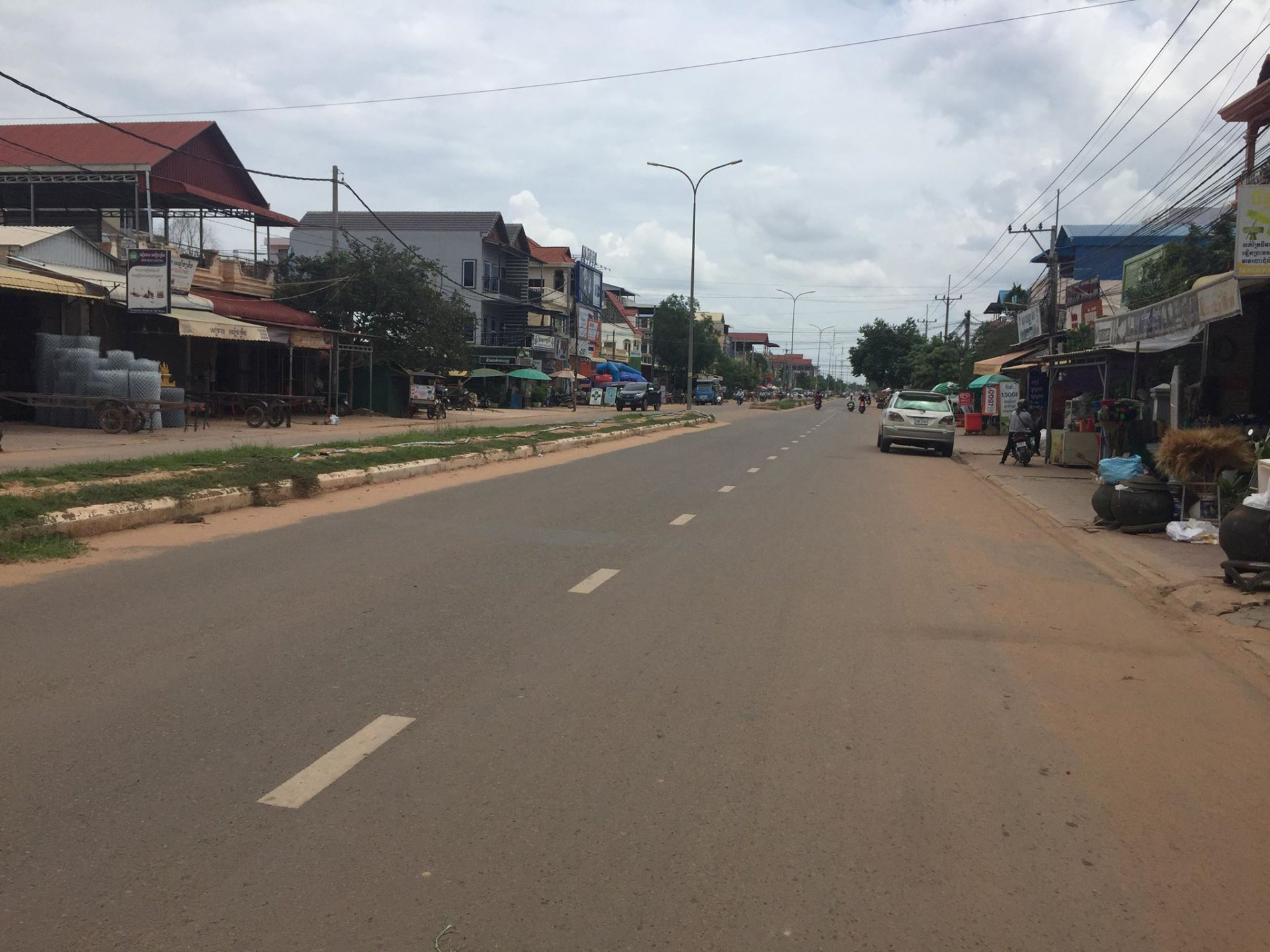 Land and Houses for sale Location in DemKralanh market Siem Reap