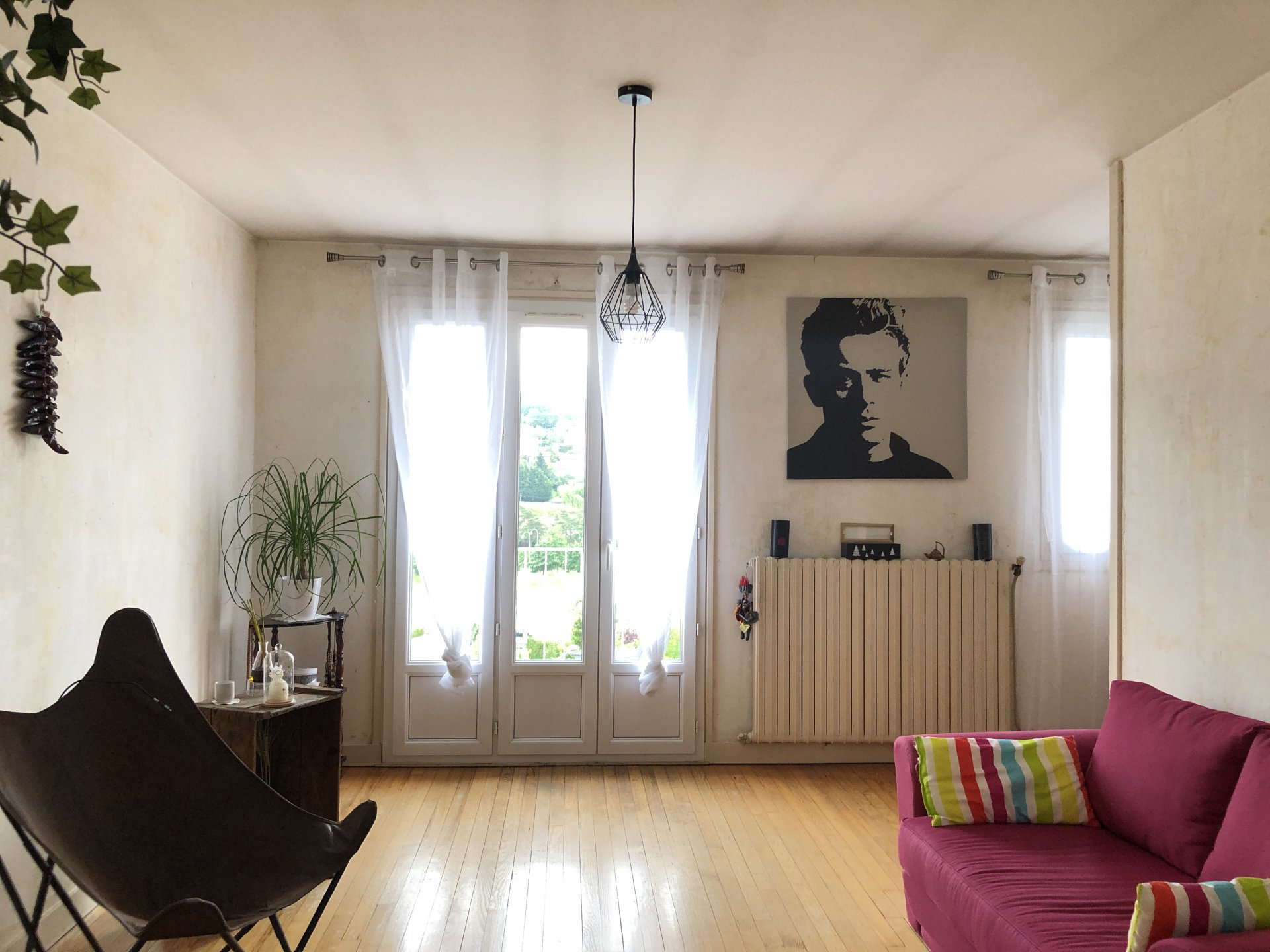 SAINT ETIENNE SUD - Appartement 4 pièces 66 m² avec garage