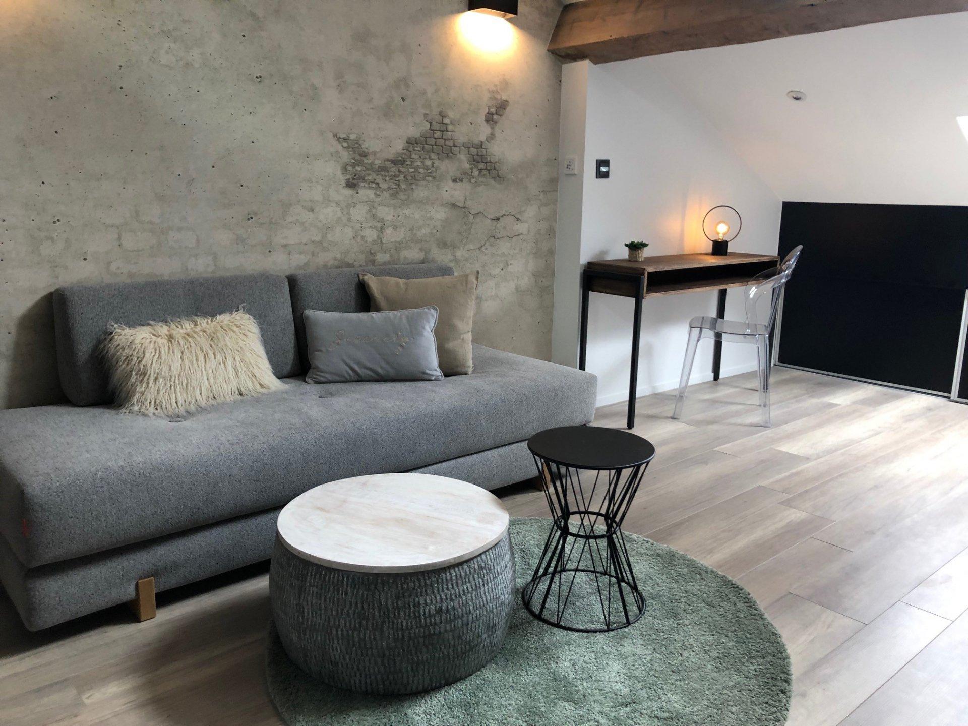 Loué par notre agence - Duplex meublé climatisé lyautey