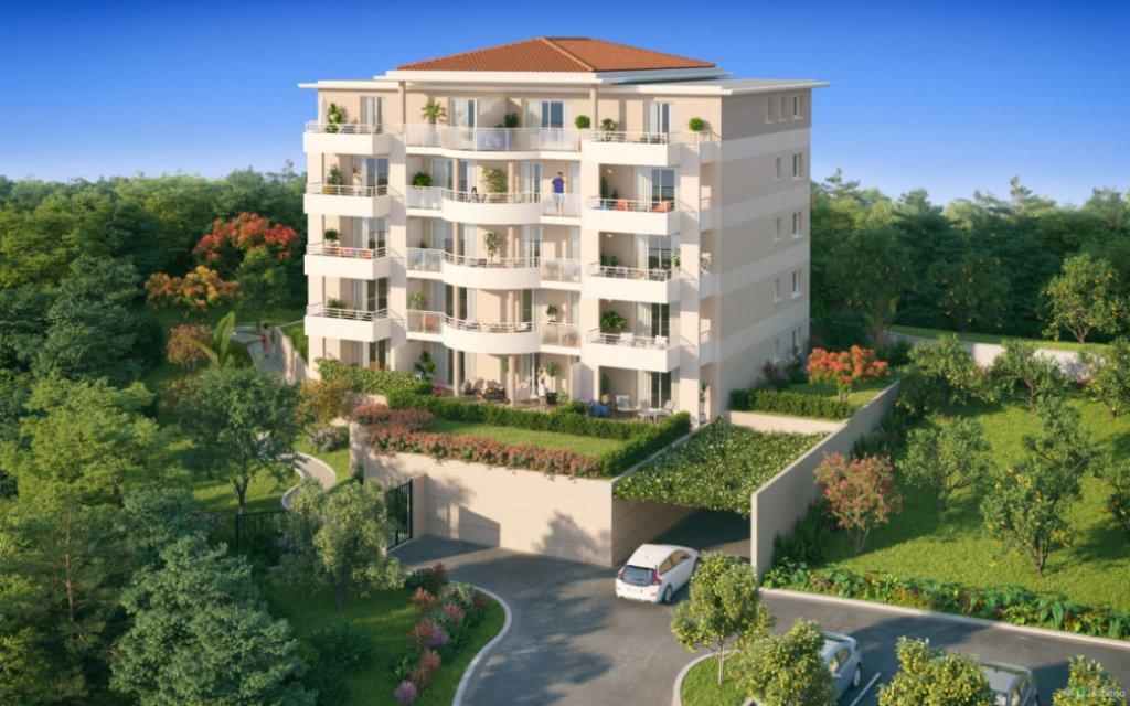 Nouveaux appartements avec vue mer à Nice, Fabron
