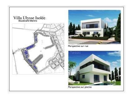 Villa golf Ulysse 27 Boulevard Meninx Tunis Bay