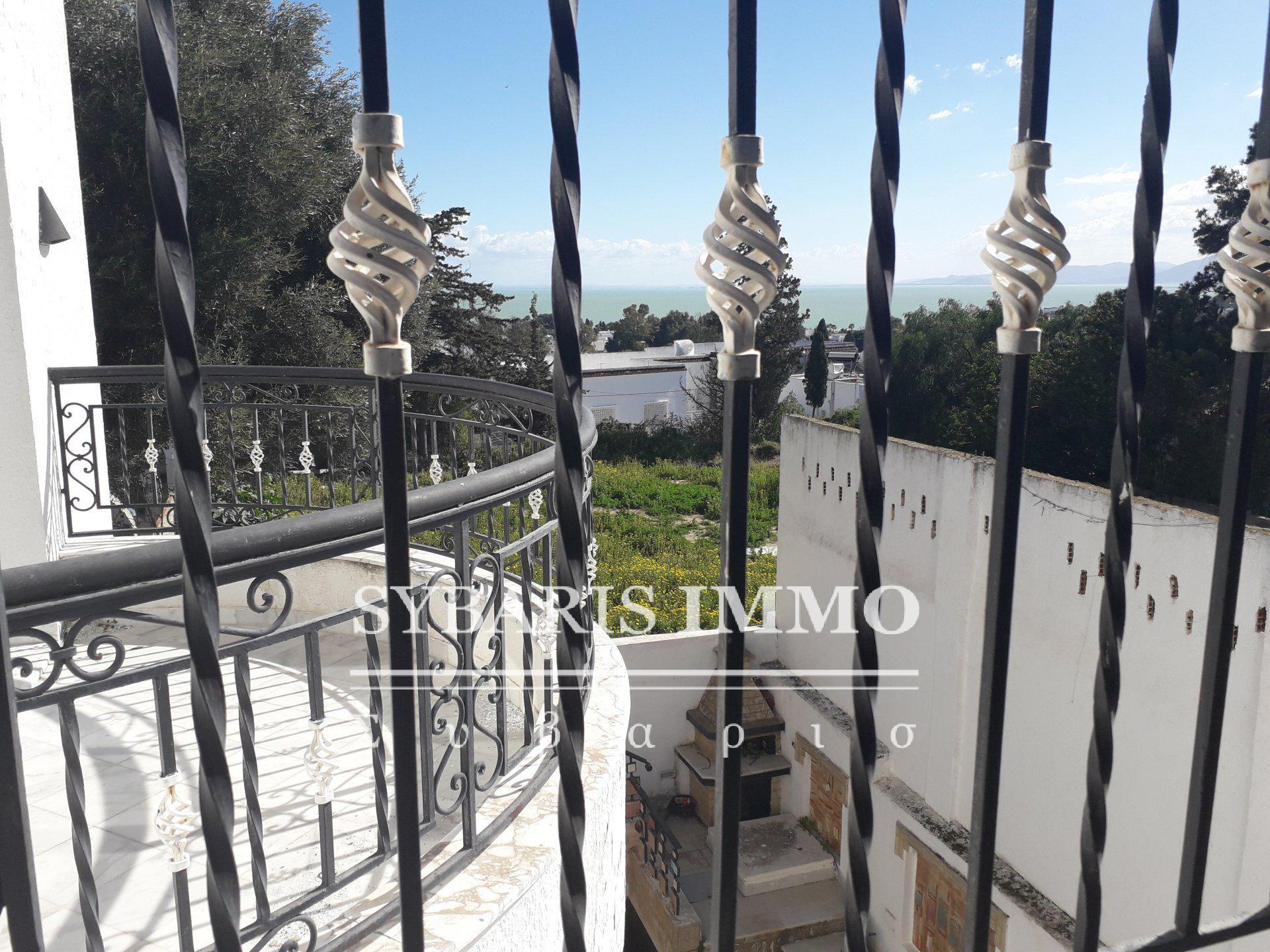 Vente villa avec vue sur mer à Carthage