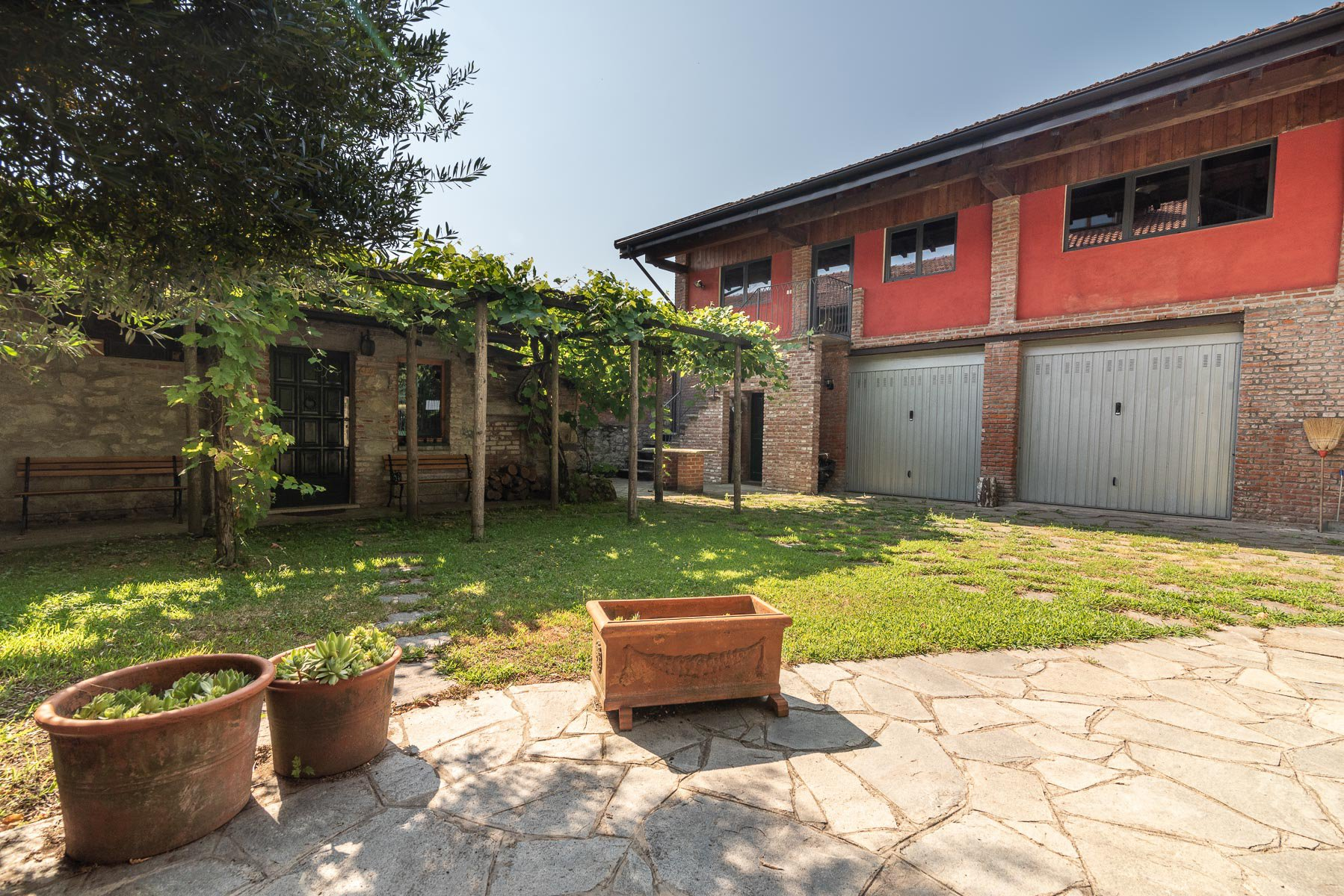 Trait house of land for sale in Paruzzaro- storage room