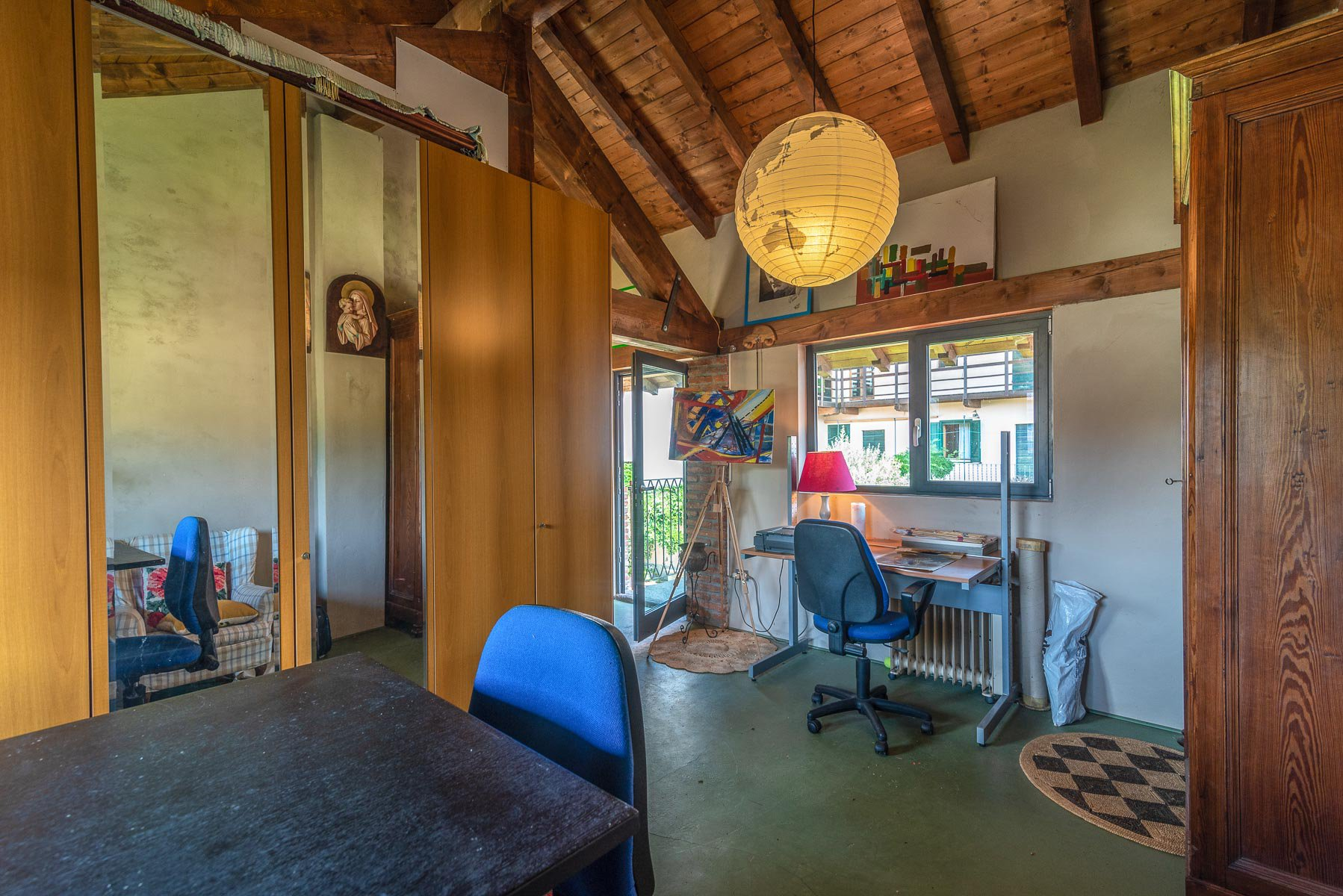 Trait house of land for sale in Paruzzaro- study area