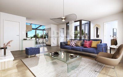 Vente appartement 4 pièces avec vue Château centre Maisons Laffitte -