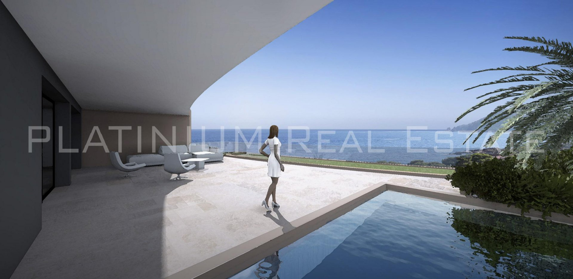 SAINT RAPHAEL Apartment 200m2 Panoramic sea view 3 bedrooms 115m2 Terrace Private pool