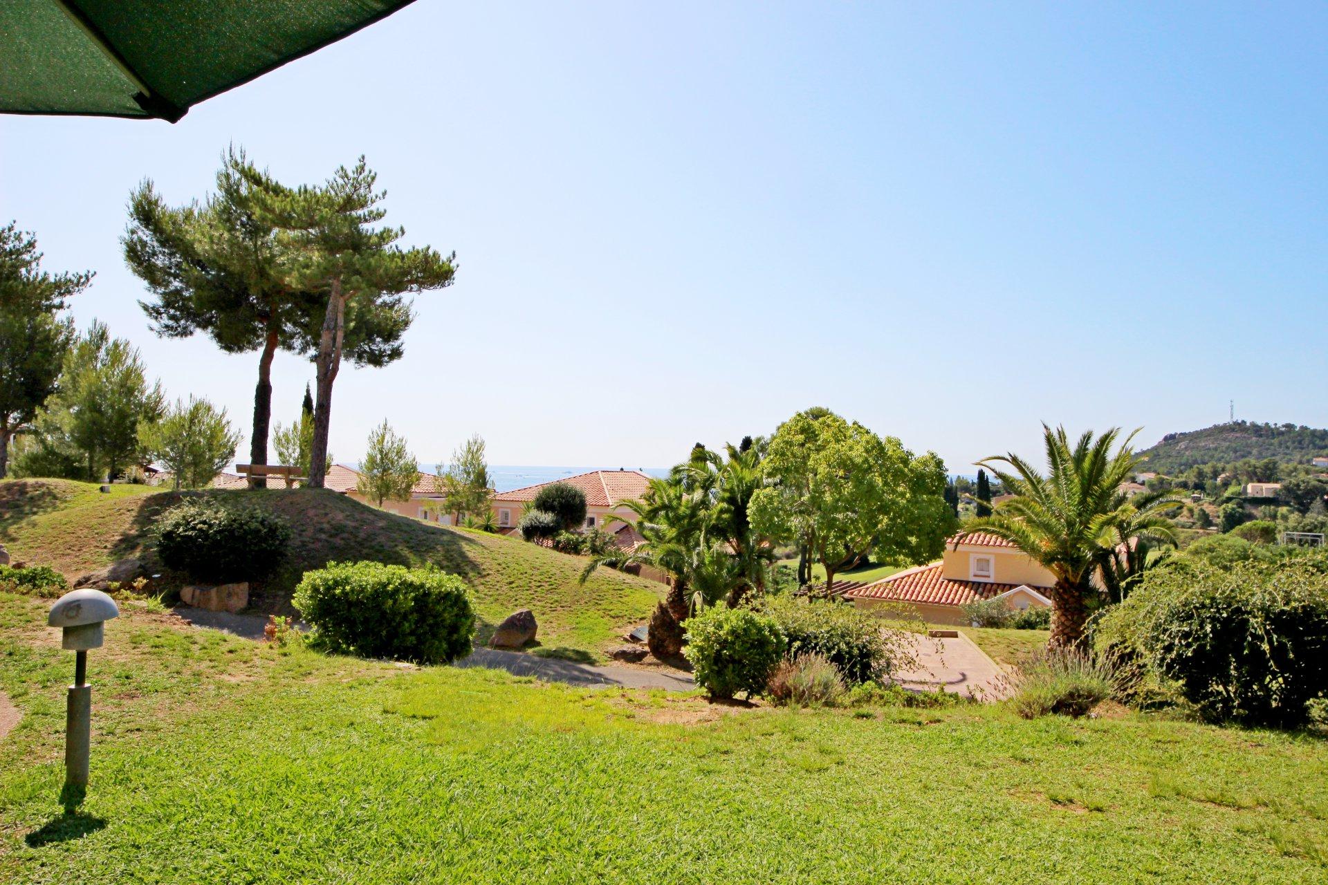 Cap Esterel 3 Rooms Garden level with sea view