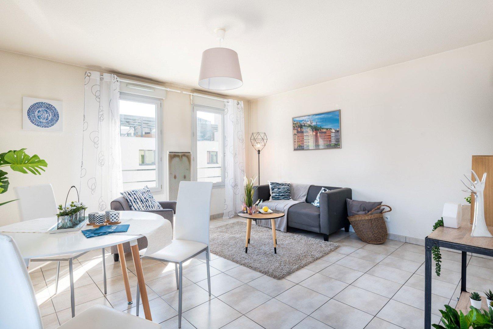 Achat Appartement, Surface de 66 m², 2 pièces, Lyon 7ème (69007)