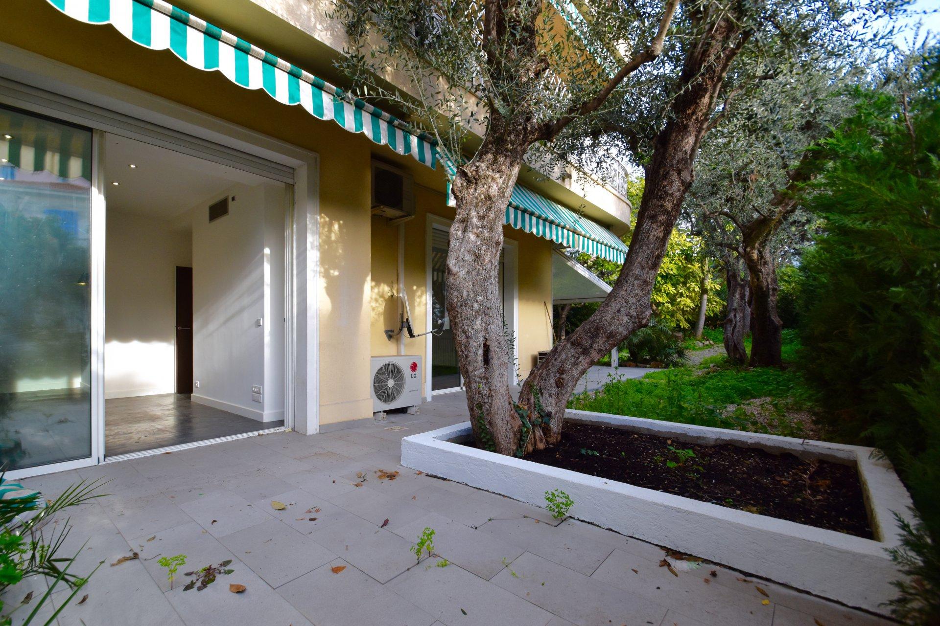 Bas cimiez appartement villa 3 pi ces jardin for Jardin villa ratti nice