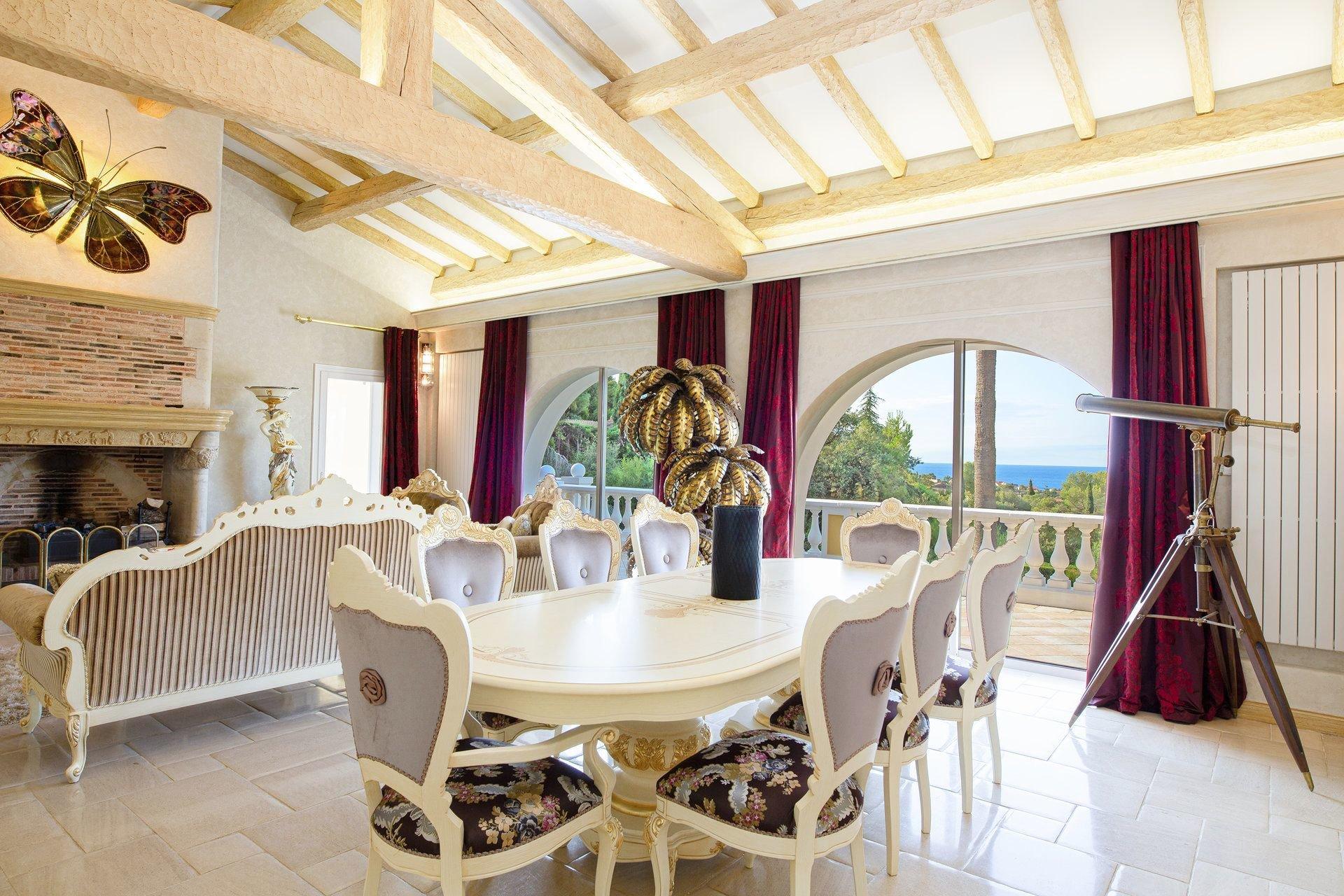 Saint Raphaël, Belle propriété 350m2 magnifique vue mer et Esterel