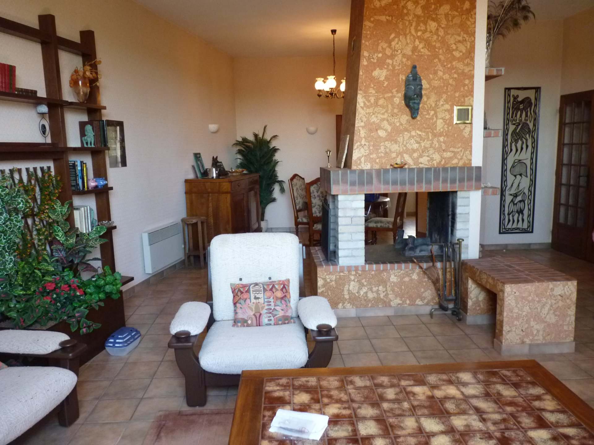 In the heart of Aurignac, beautiful stone house with garden