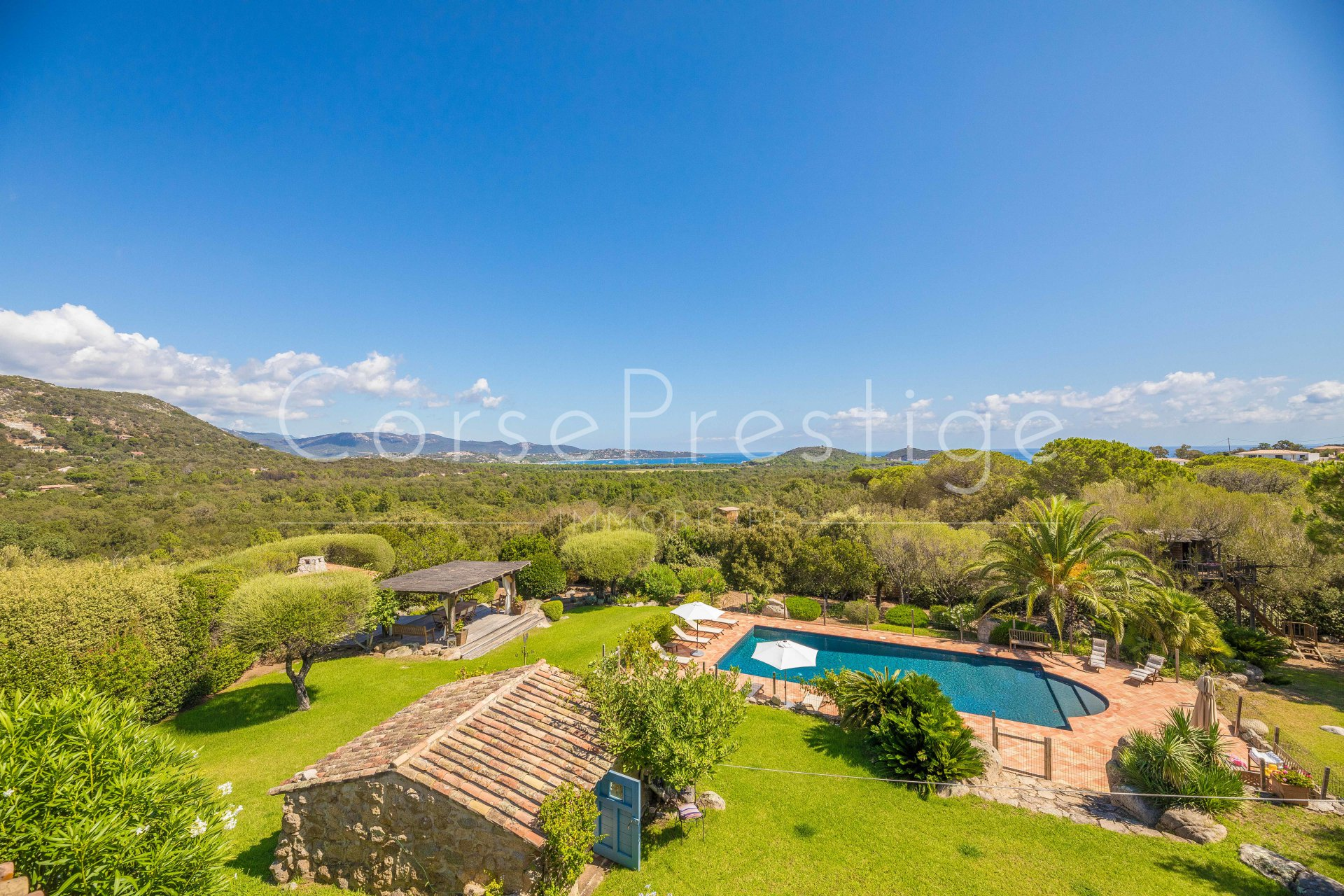 porto-vecchio charming property for sale facing pinarello image1