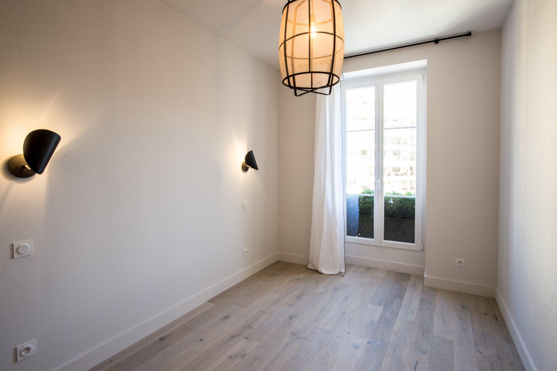 VENTE Appartement 3P Nice Carré d'Or Coulée Verte Rénové Balcons