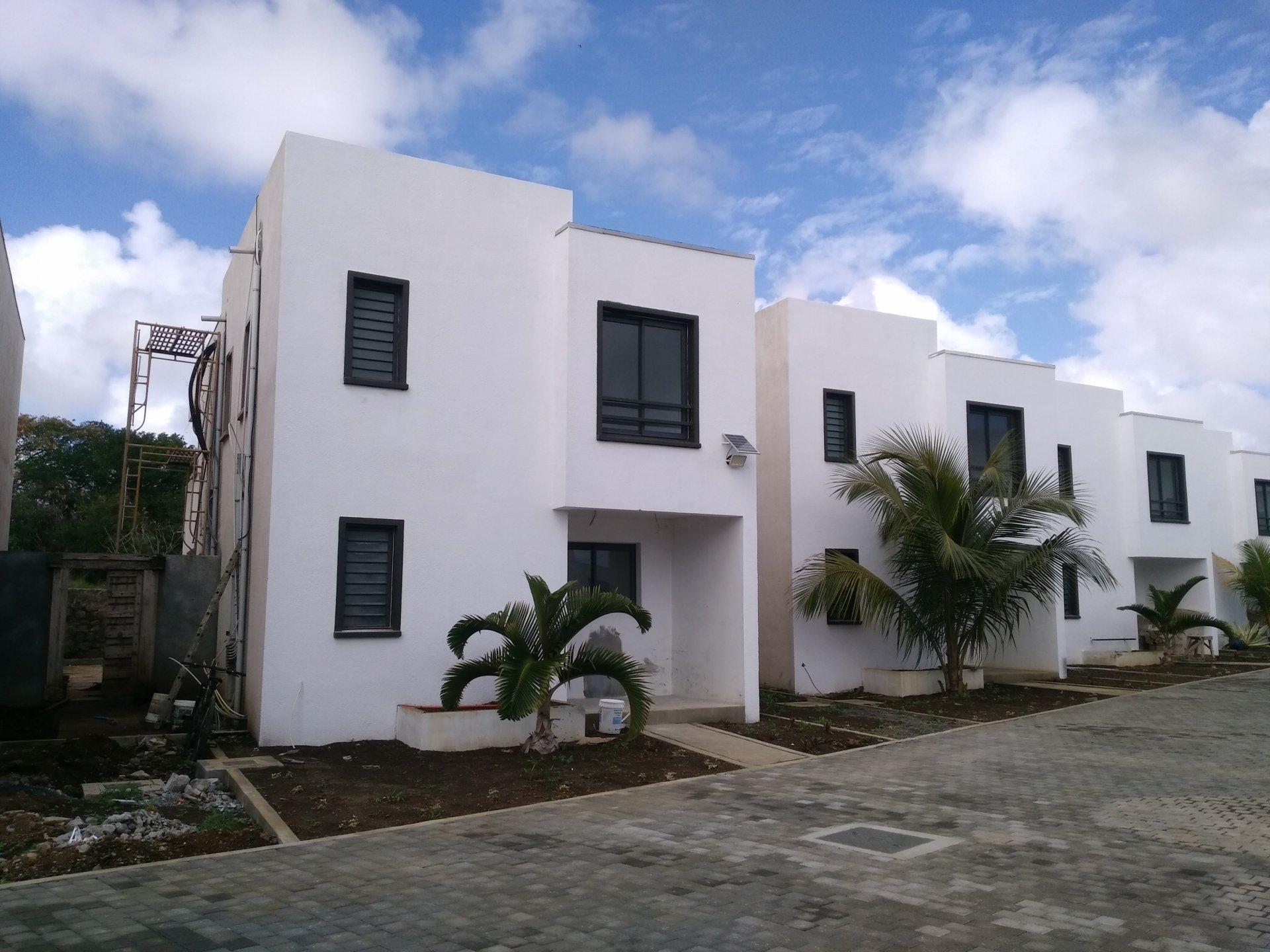 modern villa in new area