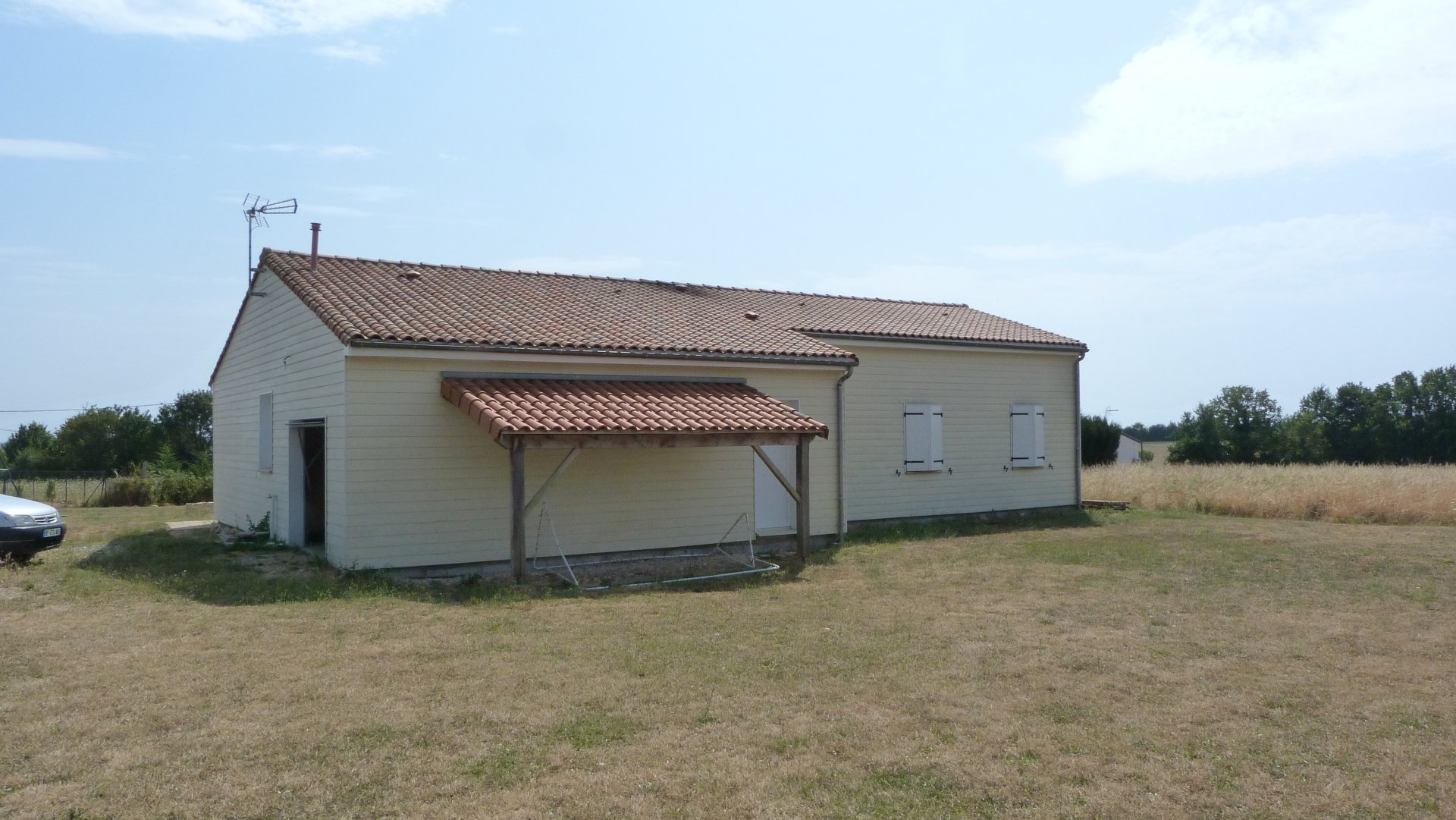 Pavillon 4 chambres.