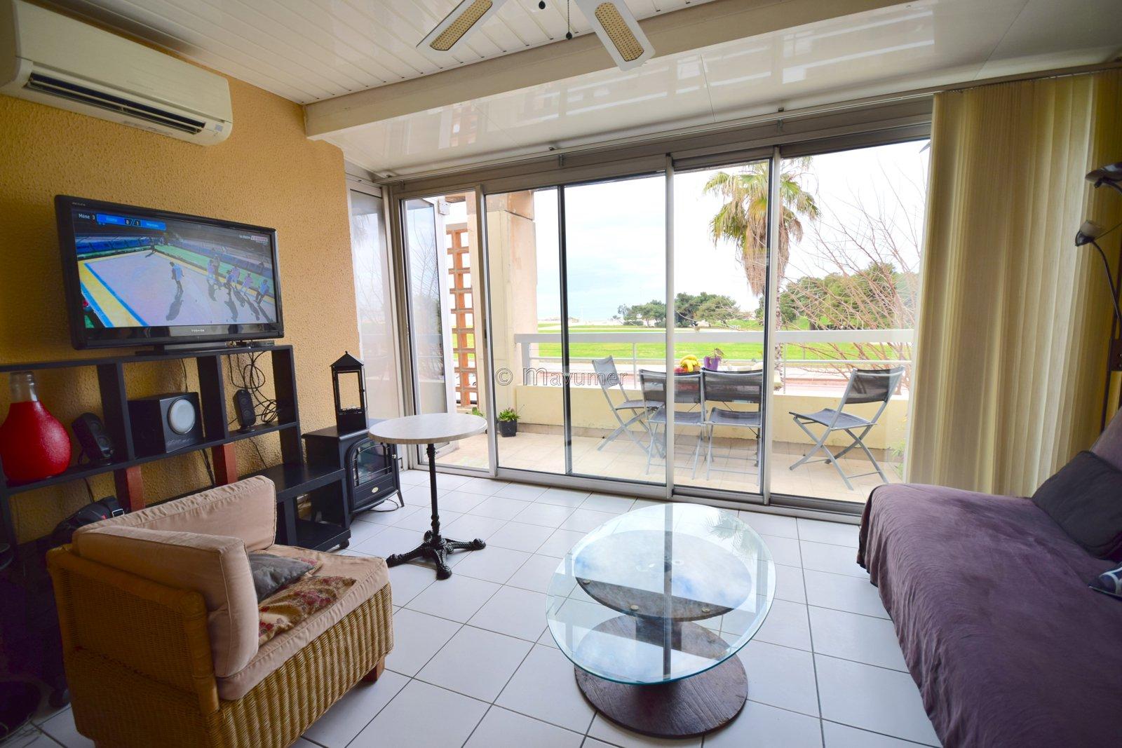 Appartement T3 vue mer à deux pas des plages