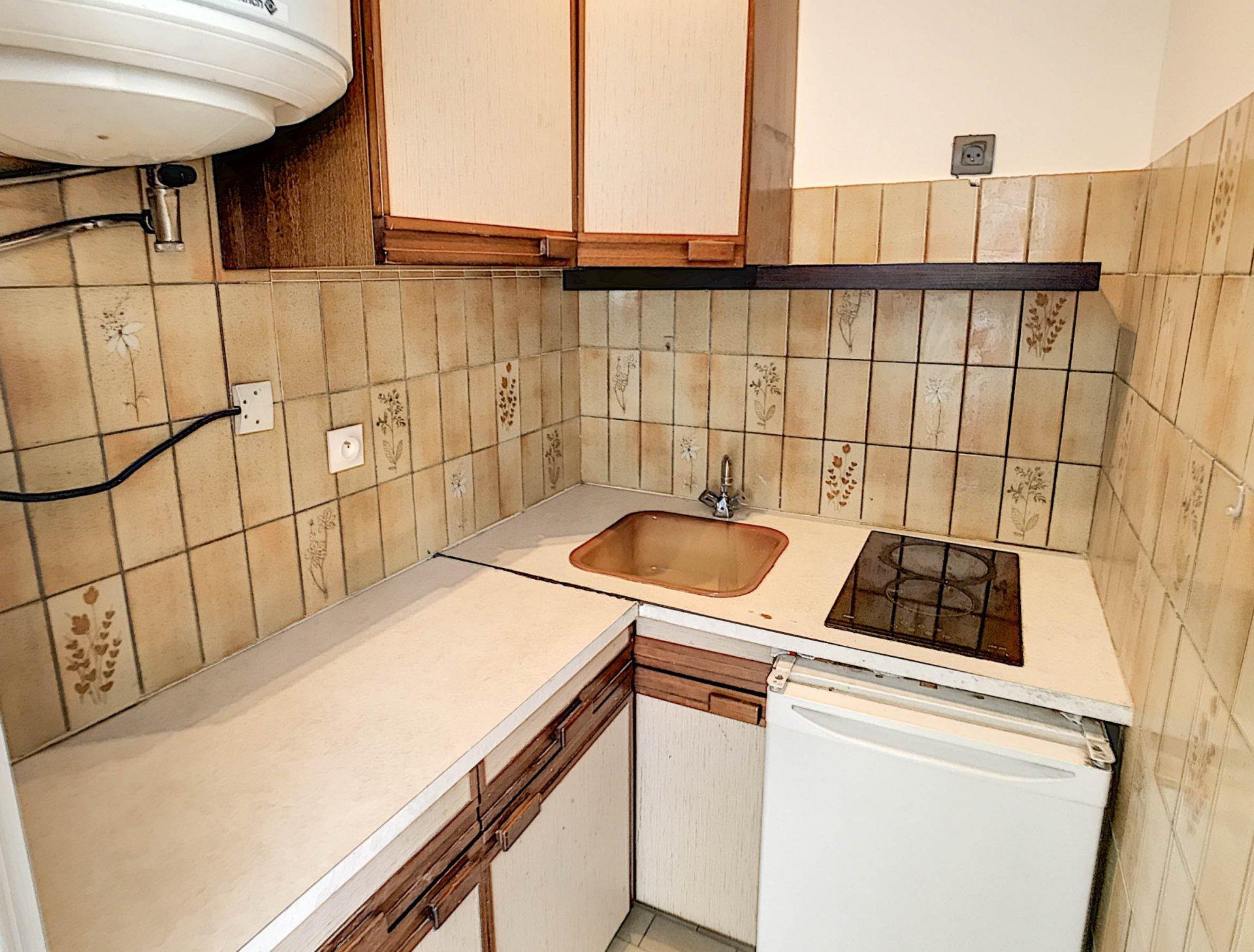 VENTE Appartement 1P 28M2 Nice Grosso Vue Dernier Étage