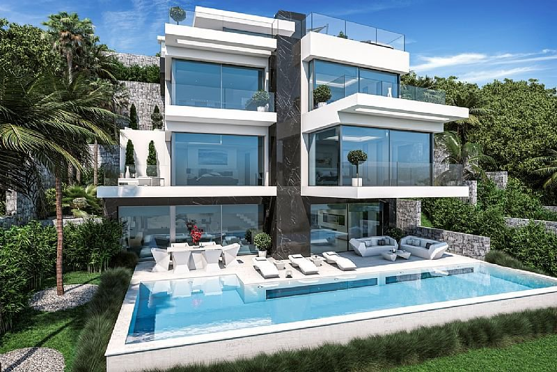 First line new build villa in Javea