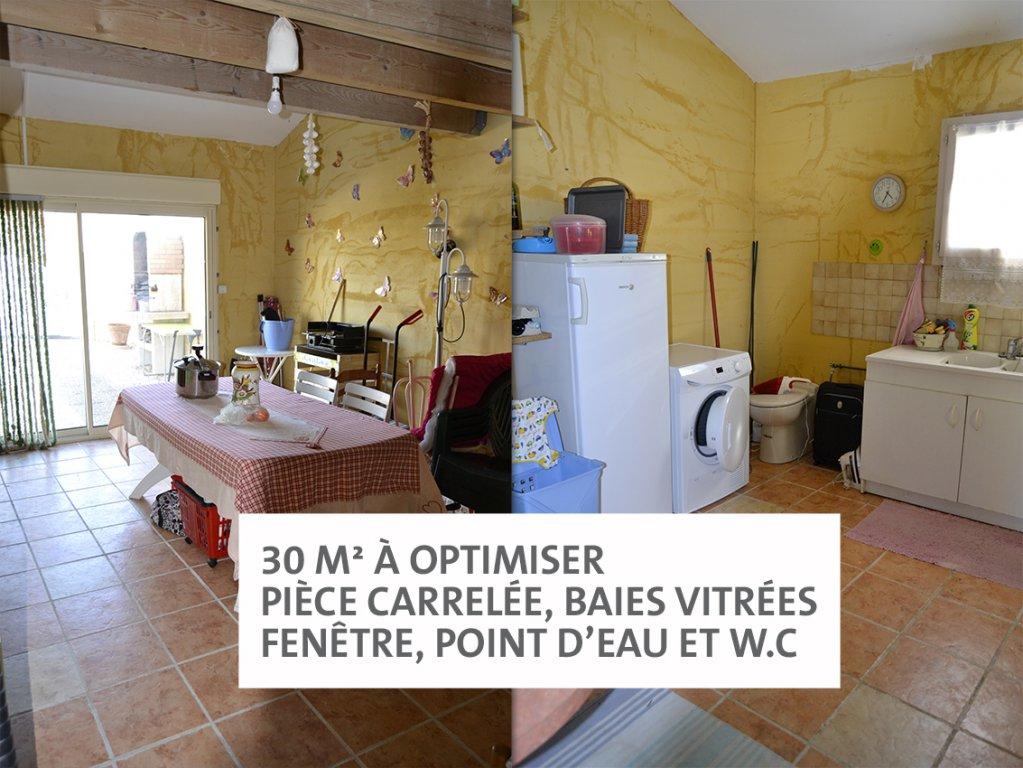 Villa T4/5 plain-pied, 4 faces, au calme, terrain 490 m²