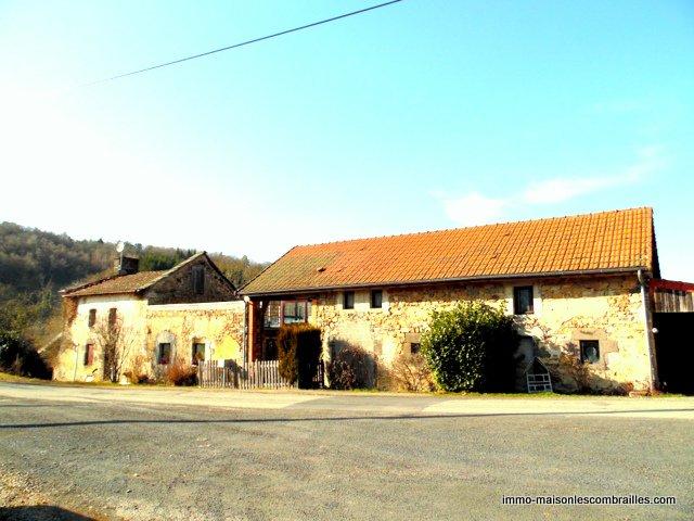Woonhuis met bijgebouw en tuin te koop in de Auvergne