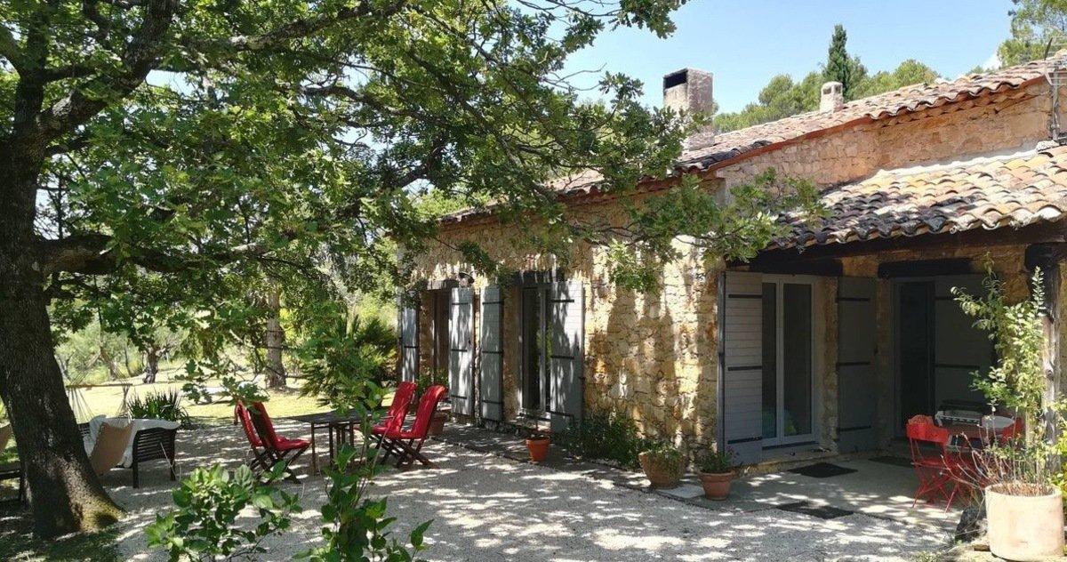 Stone villa in Fayence