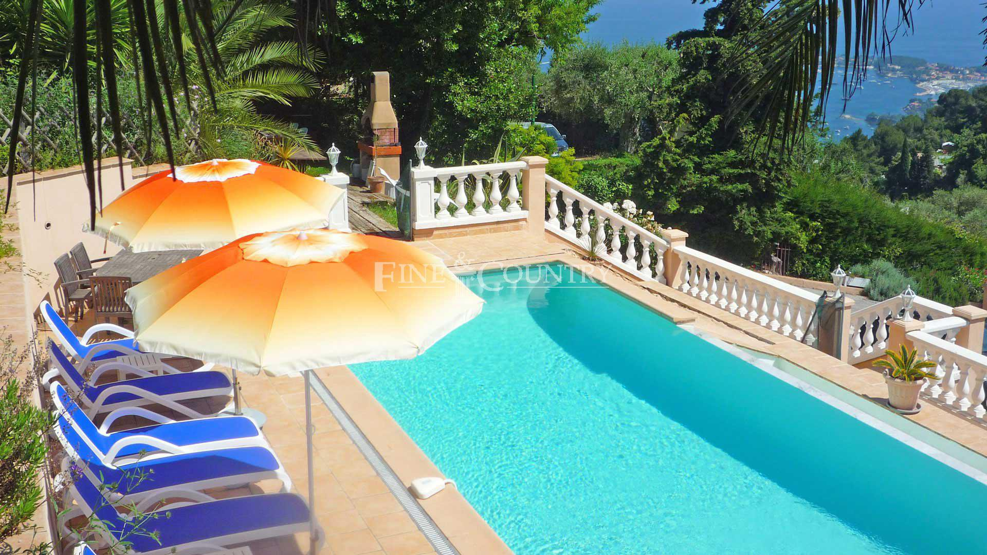 Vente Villa Villefranche-sur-mer avec vue mer