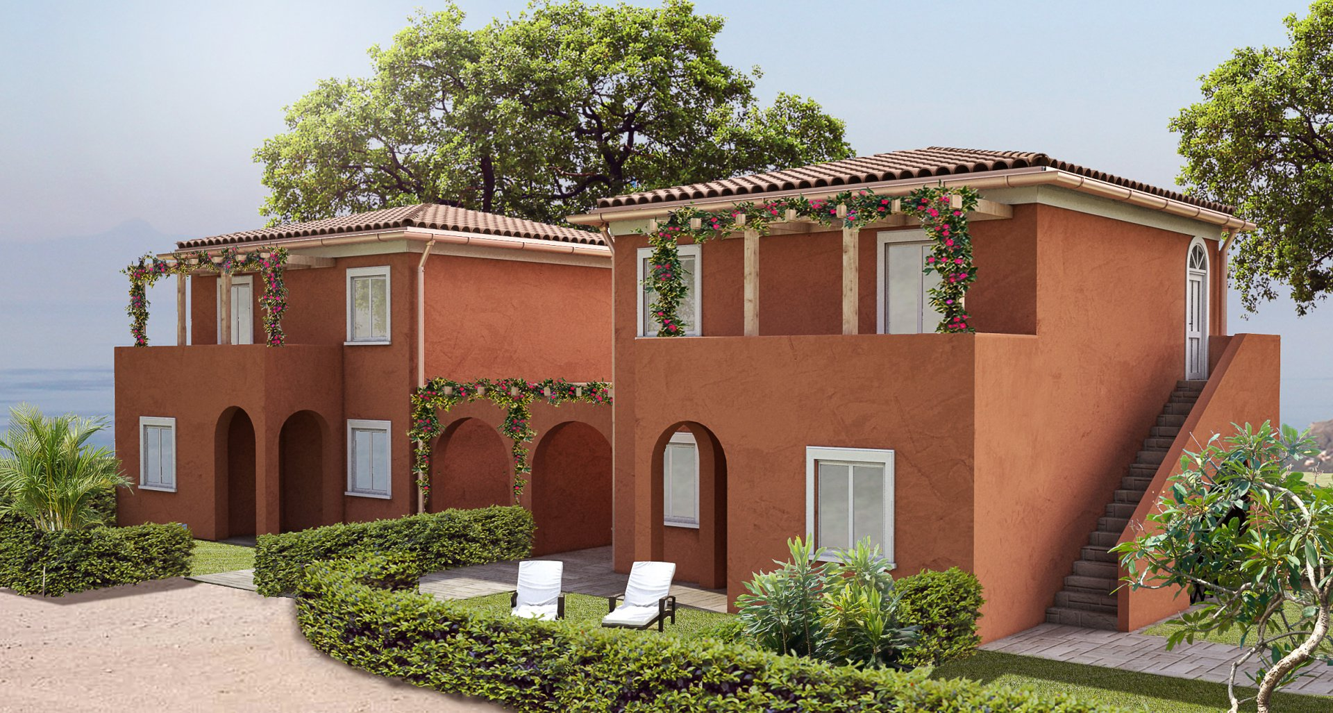 New development in Zambrone