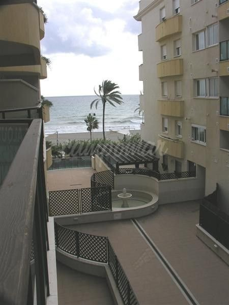 Apartment for sale front line beach in Estepona town
