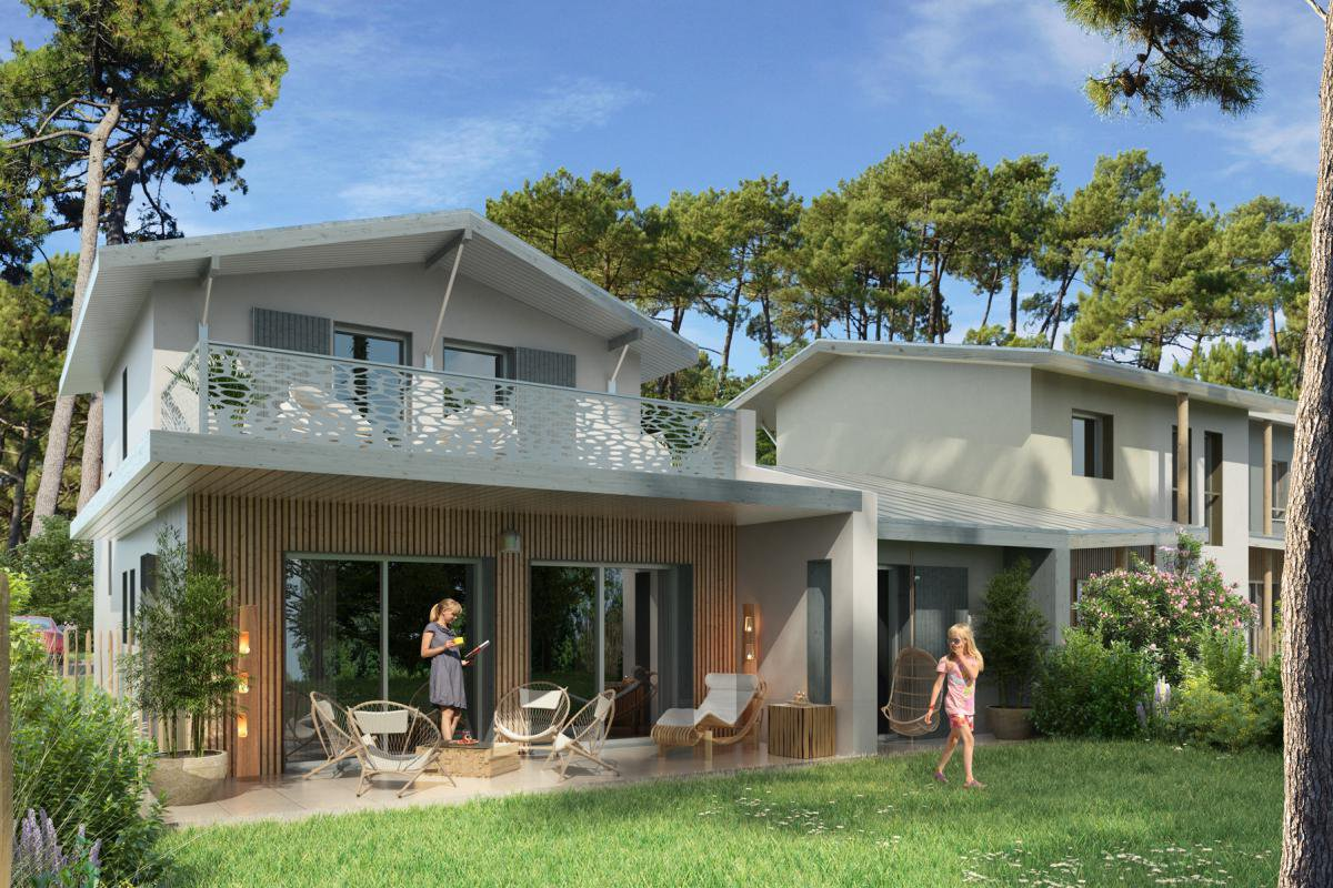 New development 300 m from the beach