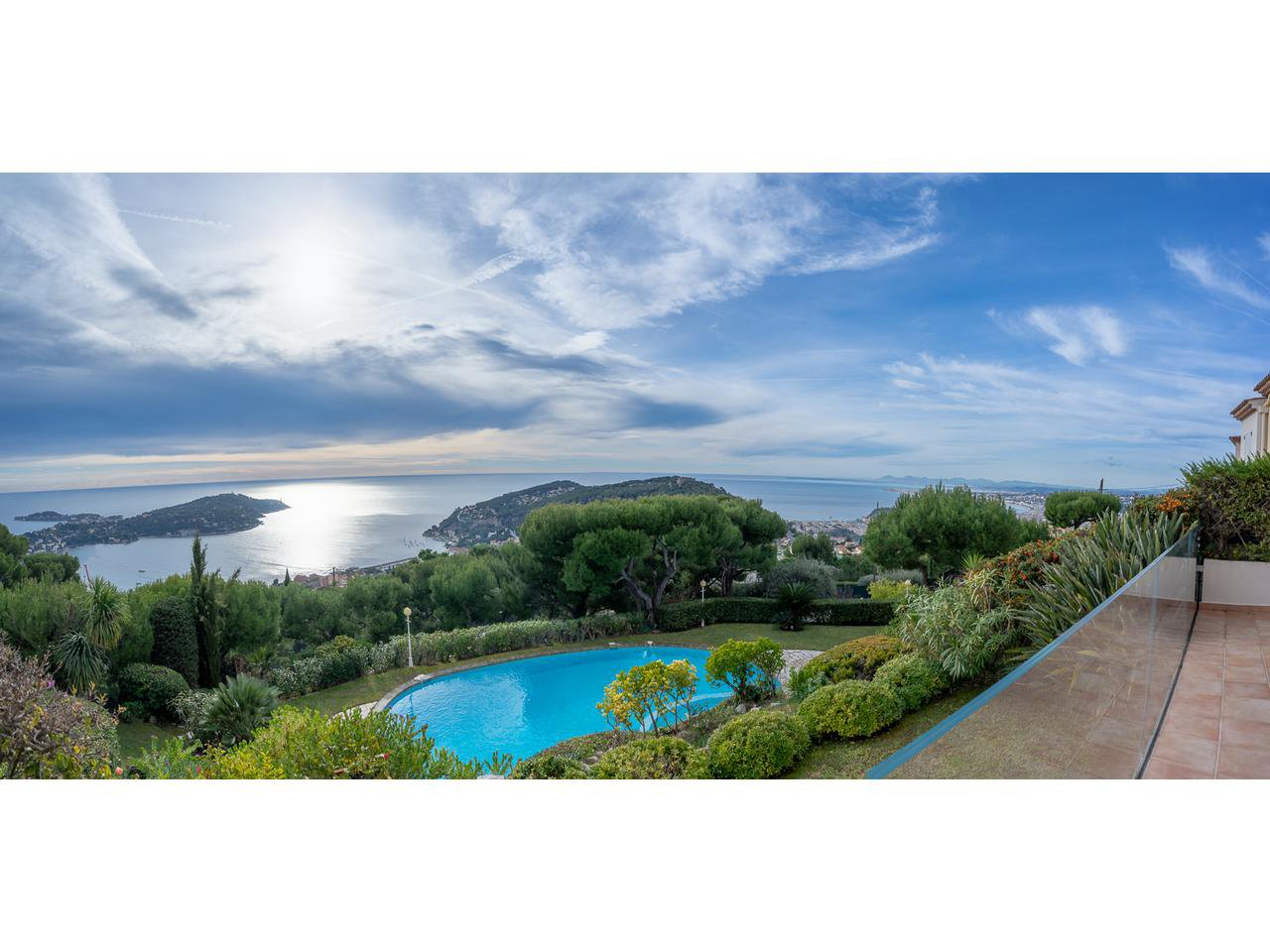 Apartment with views over Villefranche sur Mer