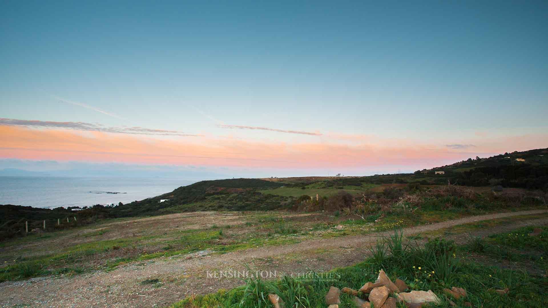 KPPM01168: Terrain Malabata Terrain constructible Tanger Maroc