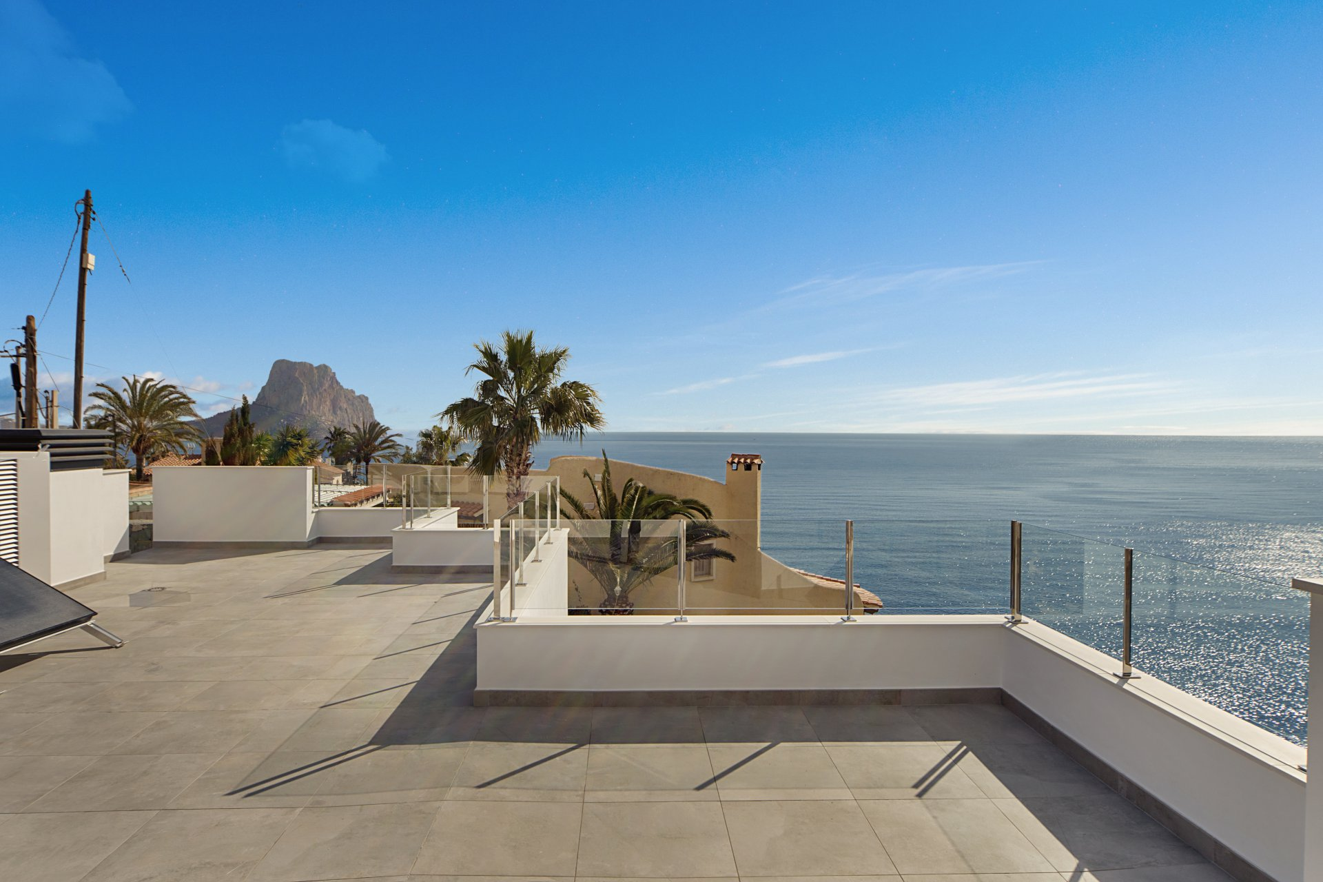 New build villa with 4 bedrooms in Calpe