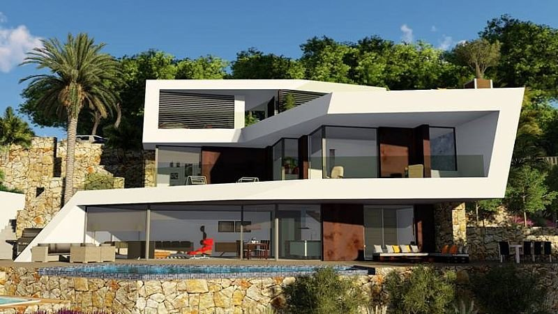 New modern villa project in Benissa