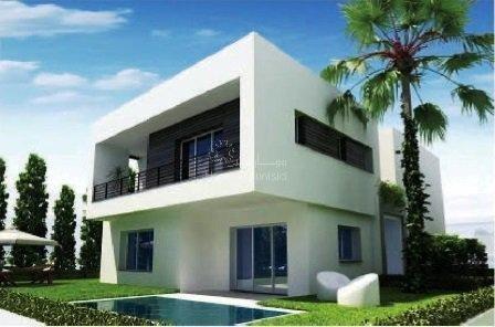 Golf résidence villa Aphrodite 69 isolée Boulevard Meninx Tunis Bay