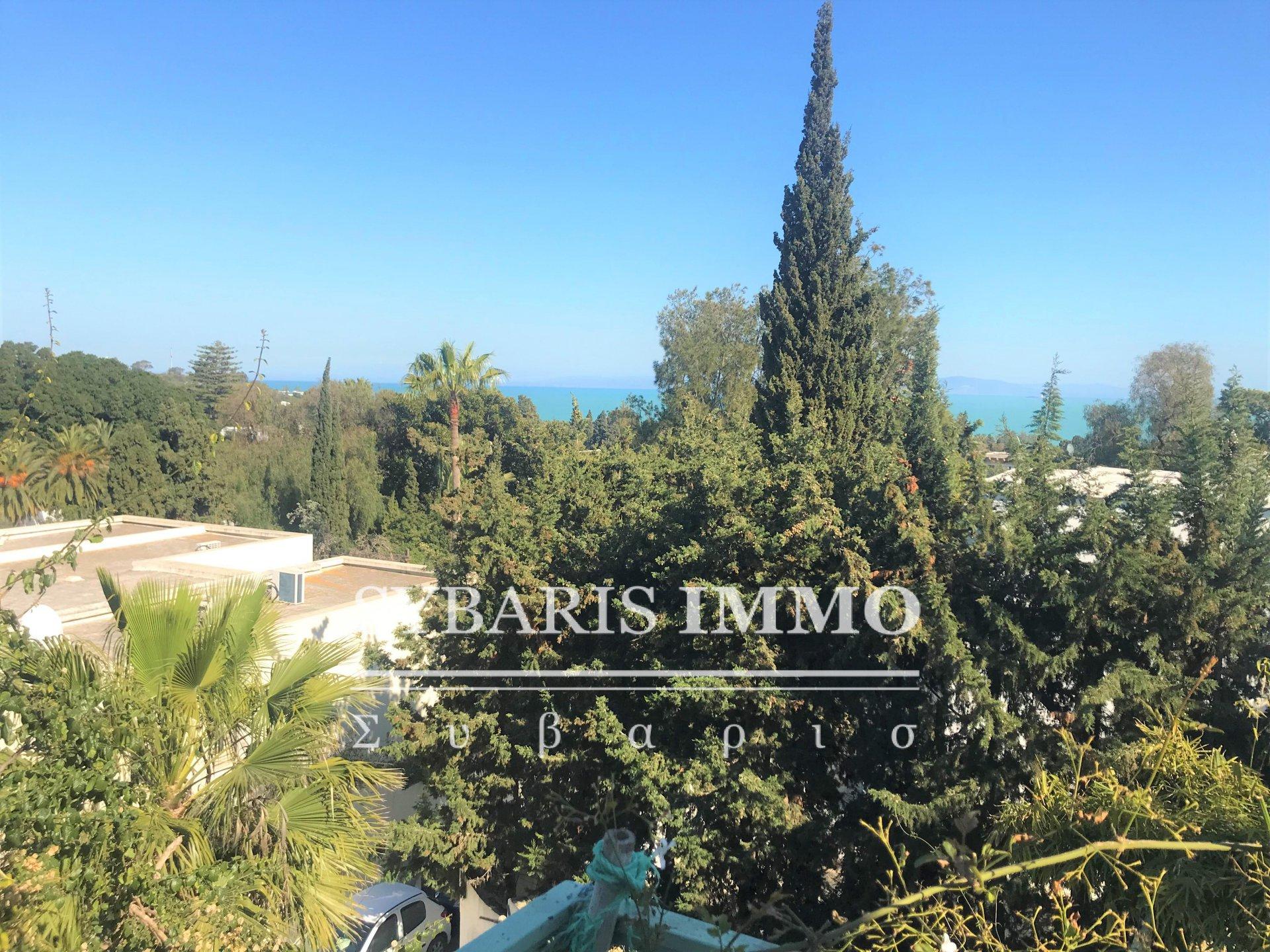 location maison a Carthage avec vue sur mer