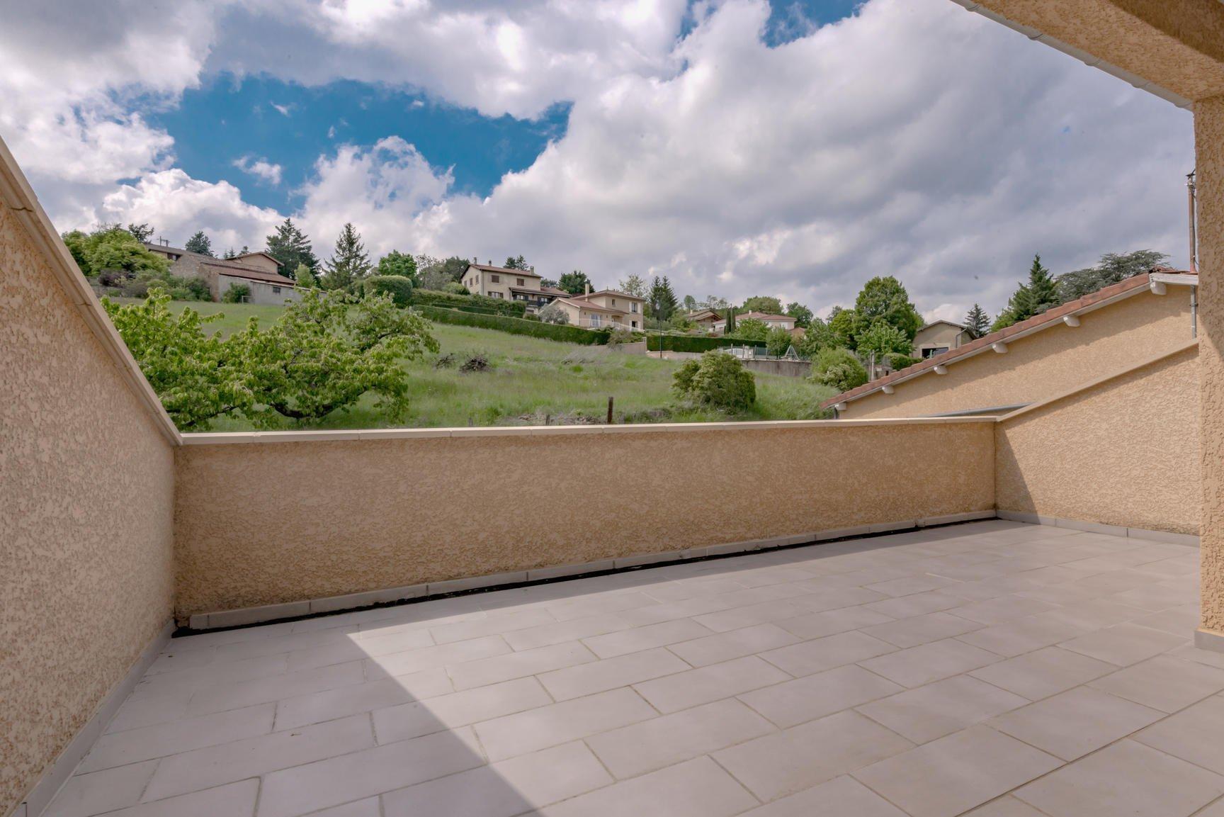 Appartement avec 2 terrasses avec vue imprenable