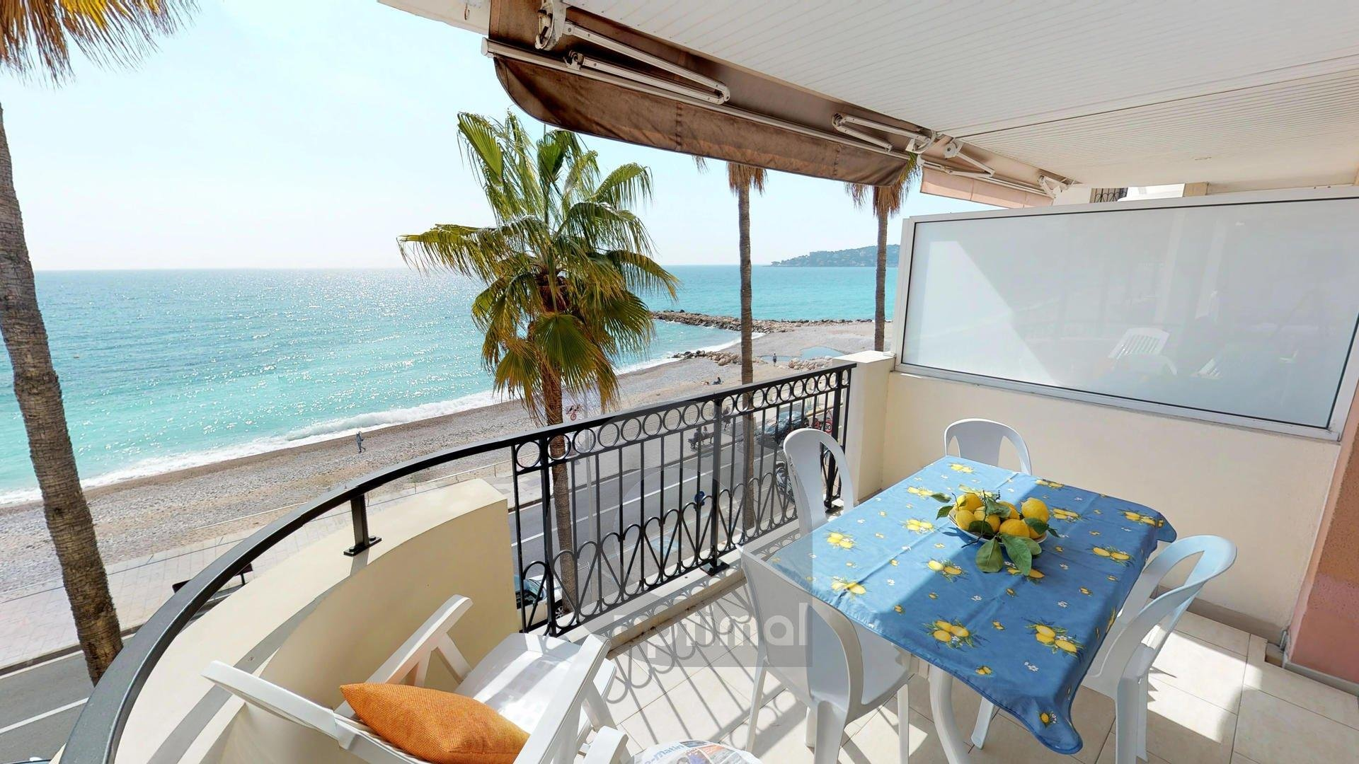 Magnificient facing sea 3rooms with terrace and garage