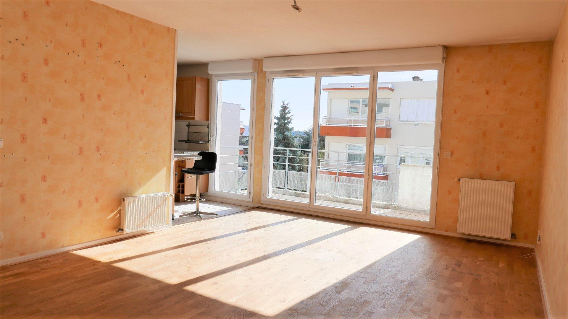 Location Appartement Surface de 66.39 m², 3 pièces, Villeurbanne (69100)