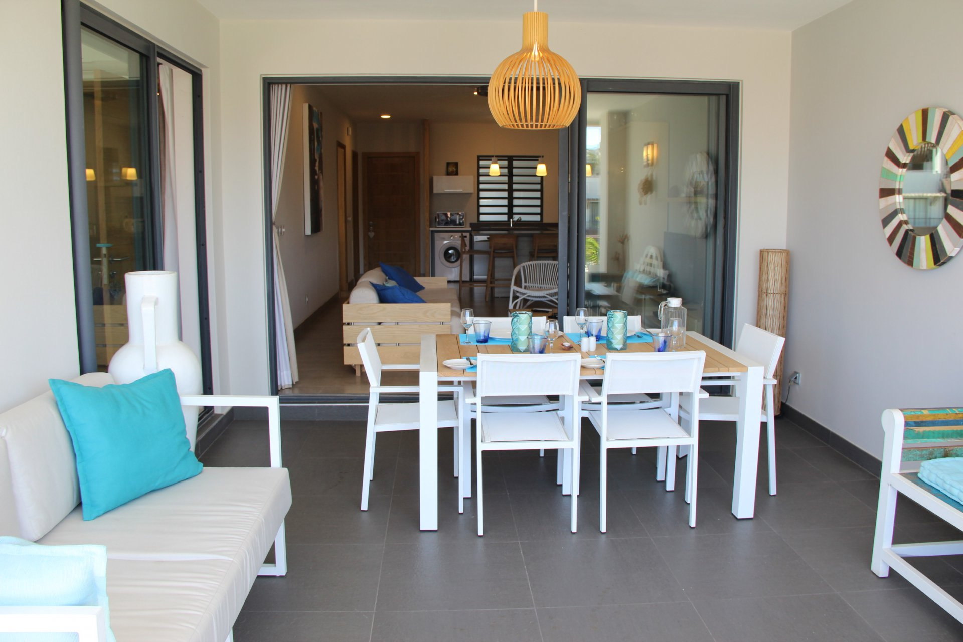 Furnished apartment in Mont Choisy