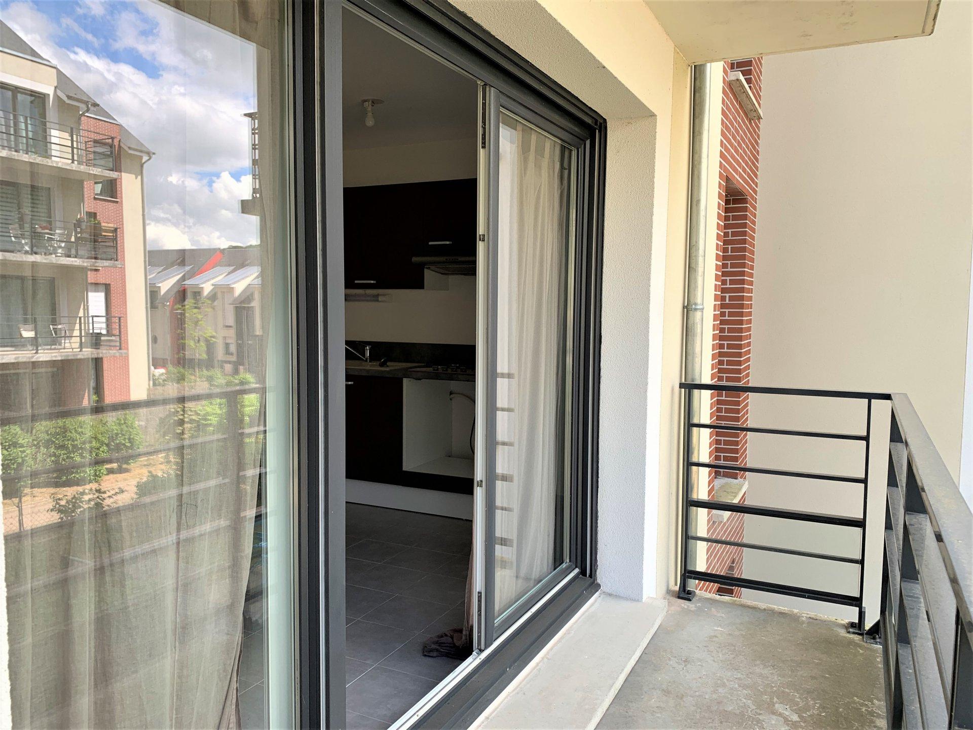 T2 à louer avec balcon et place de parking