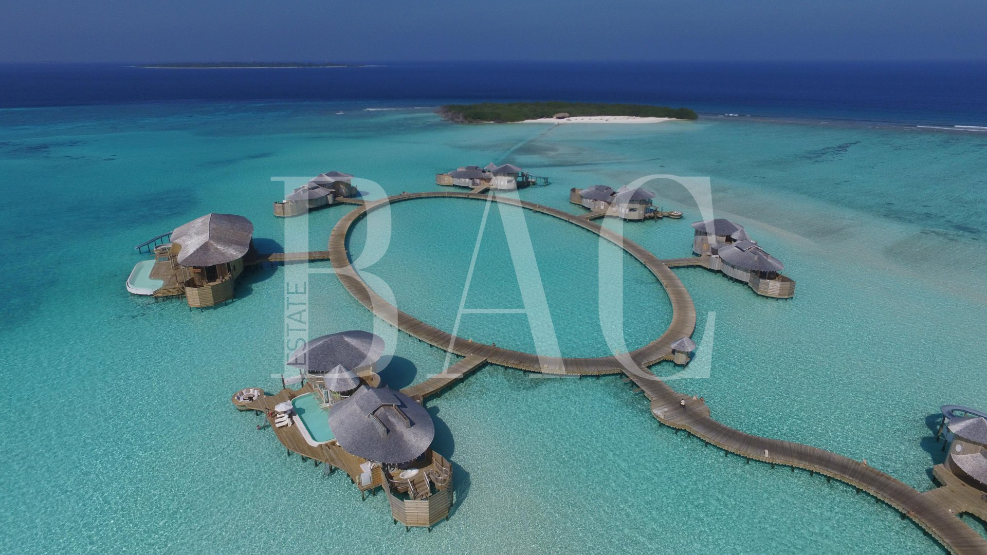 4 bedroom overwater villa in Maldives