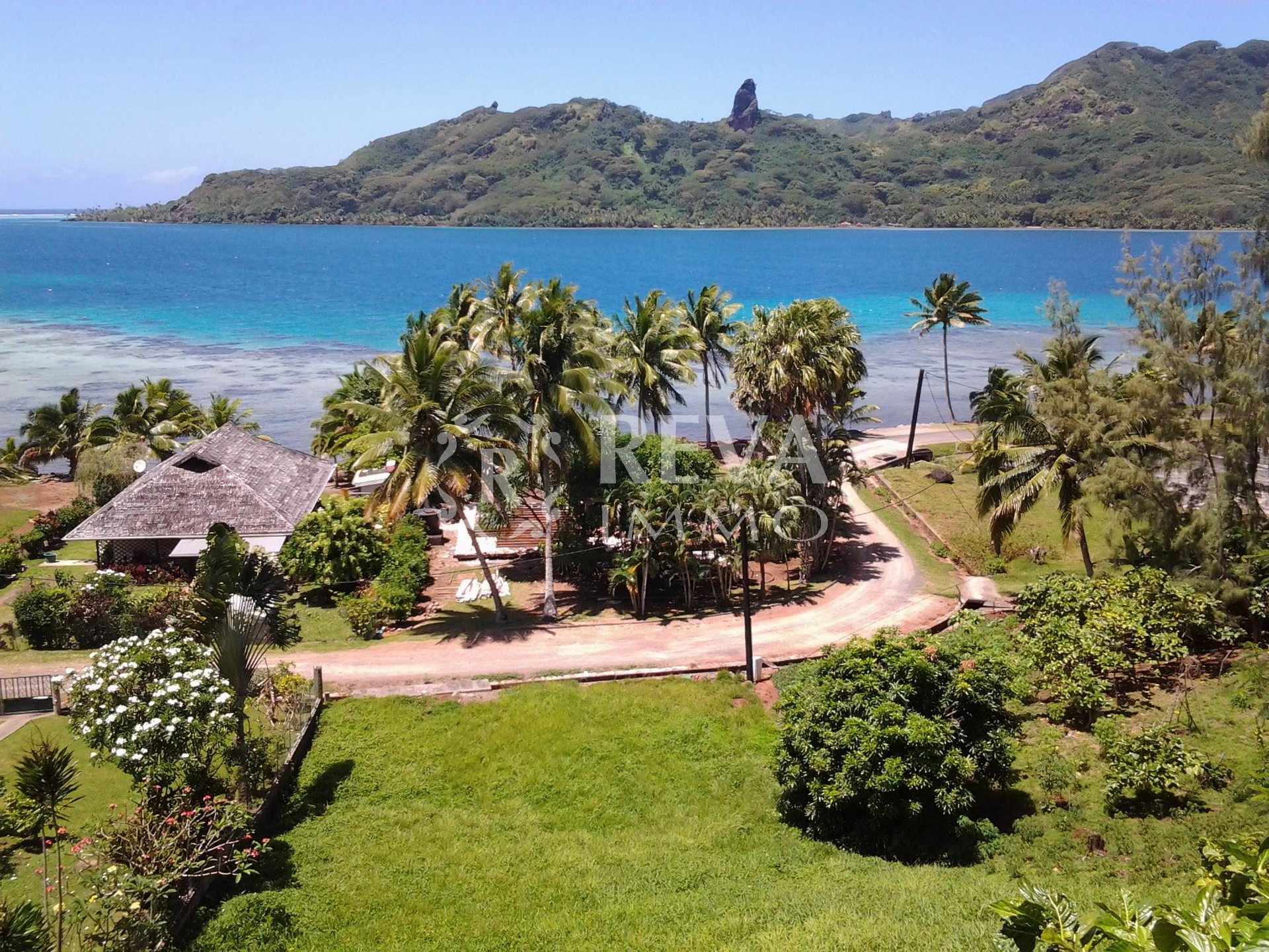 Sale Plot of land - Huahine - French Polynesia