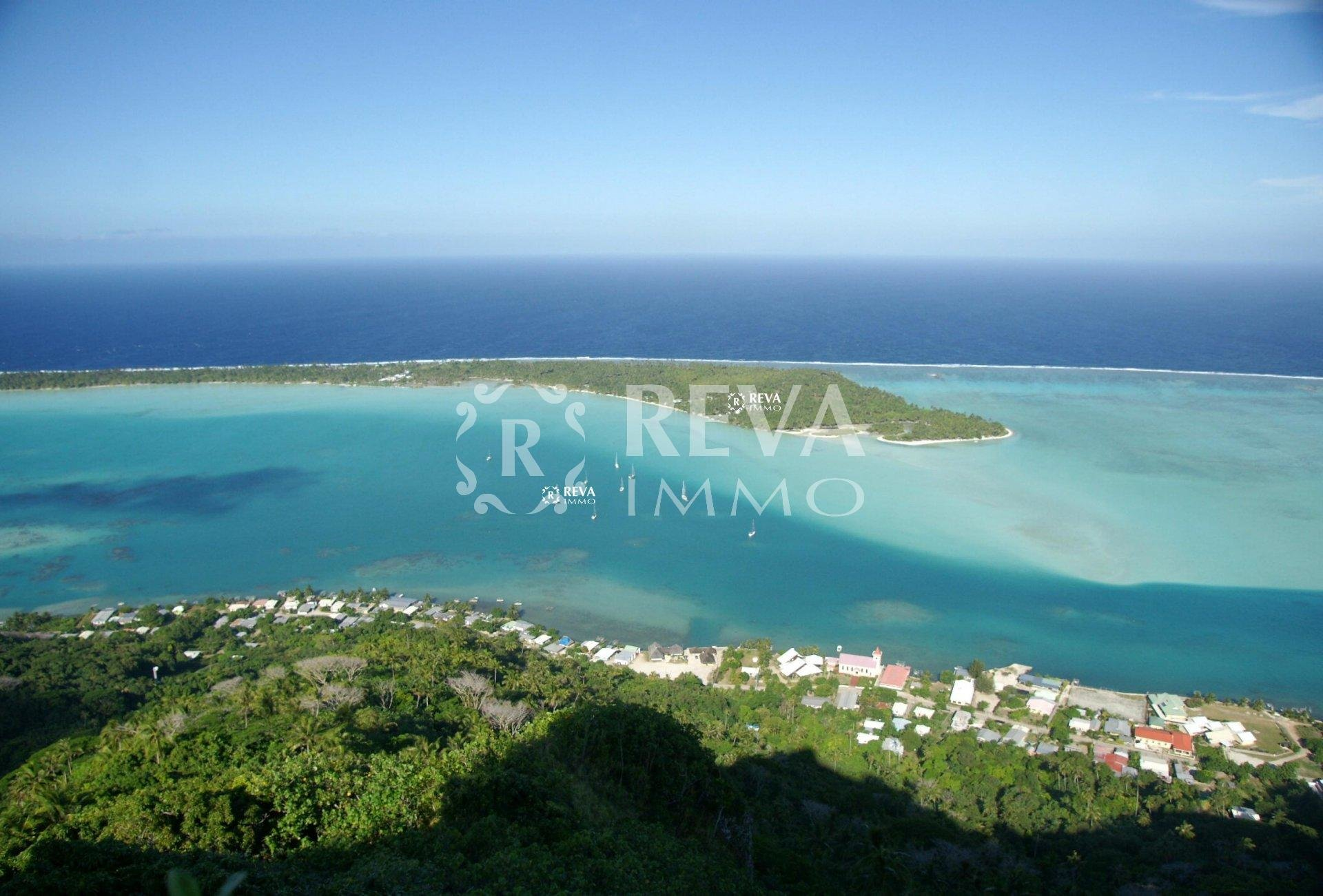 Sale Plot of land - Maupiti - French Polynesia