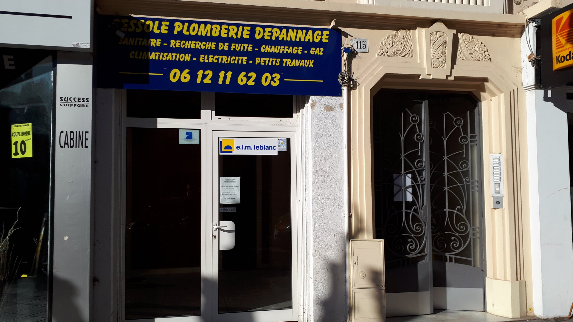 Sale Premises - Nice Cessole