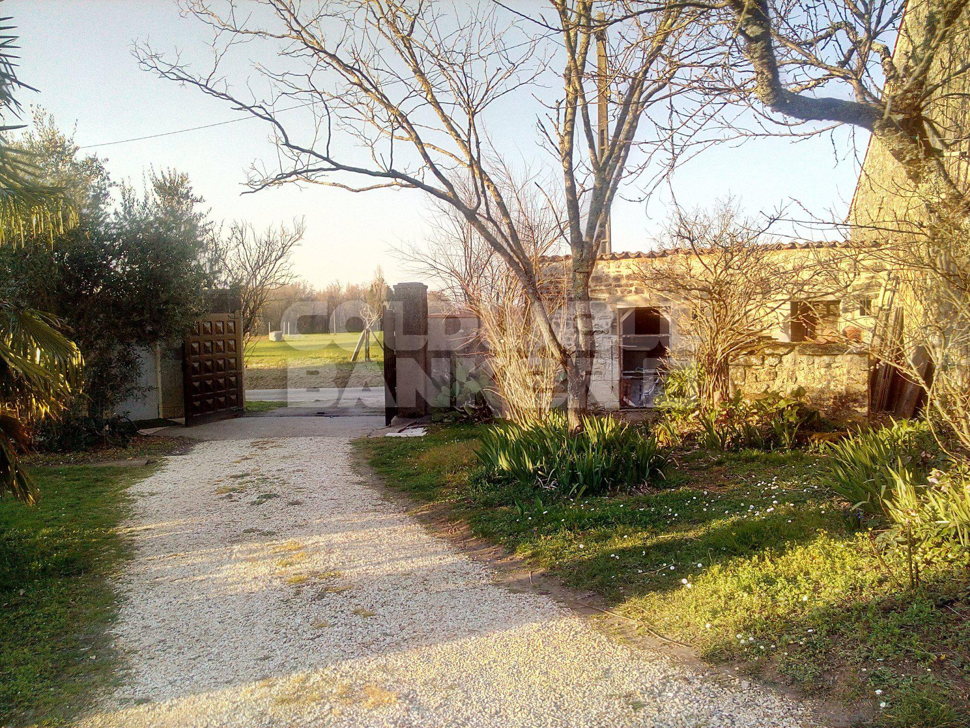 For Sale near Gemozac - Lovely Stone House located in a peace haveb